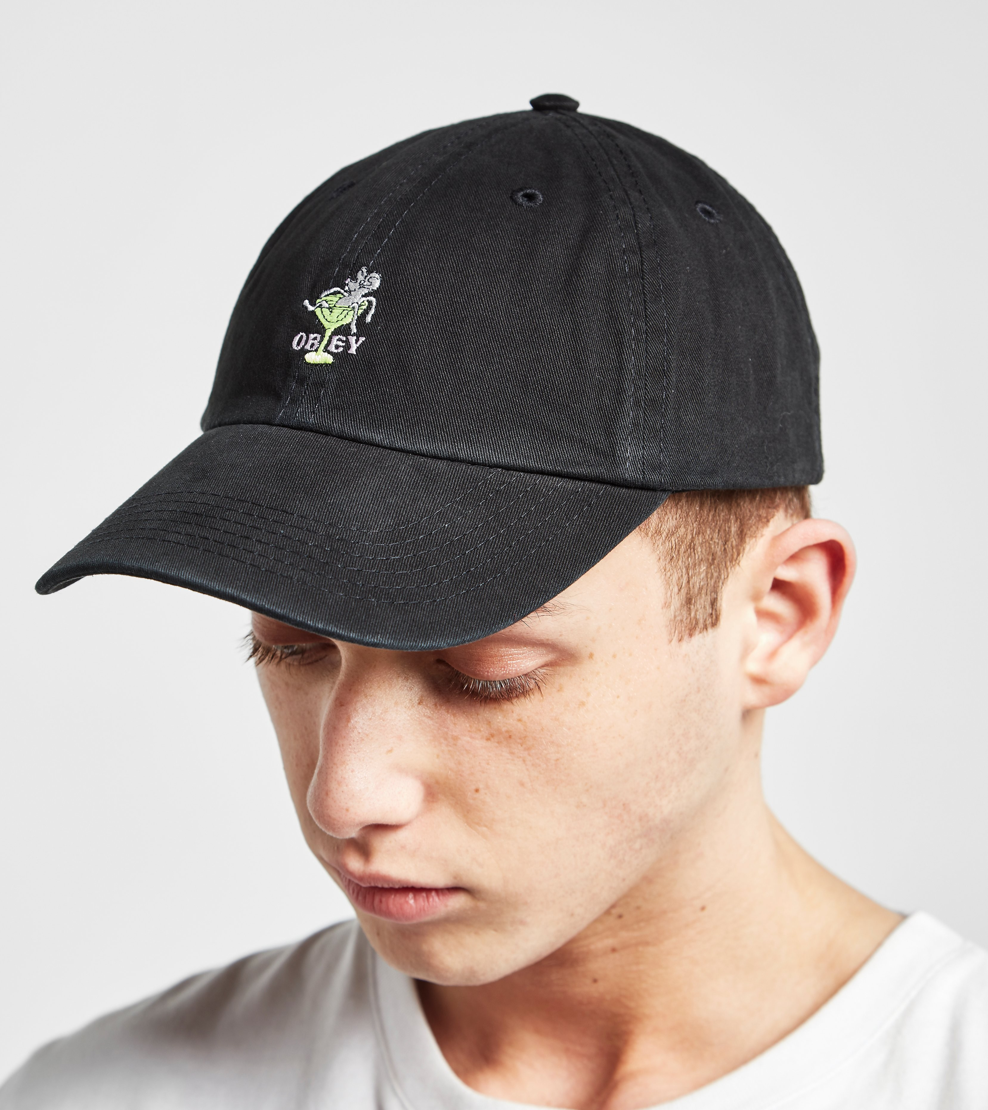 Obey Logo Curved Cap