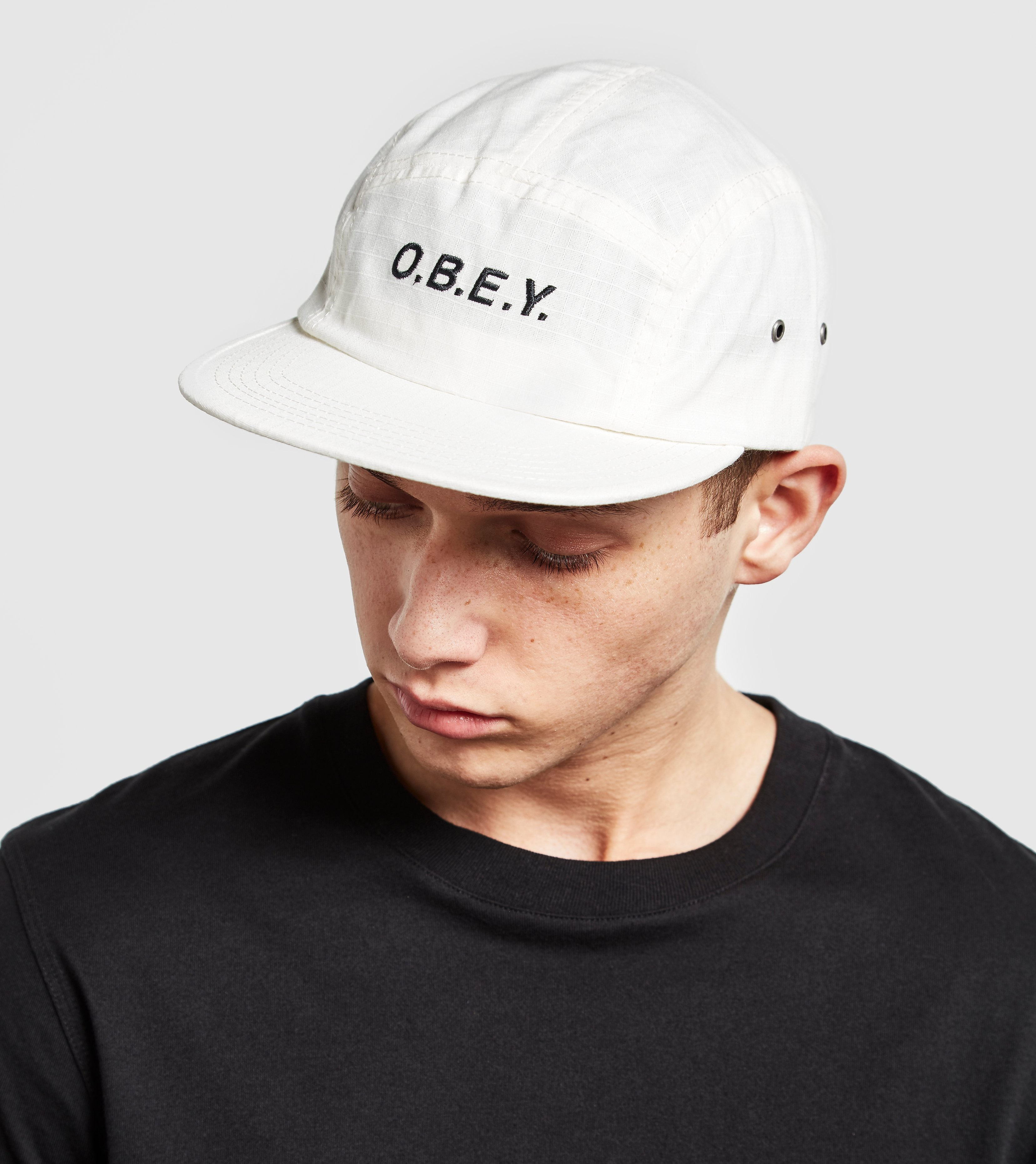 Obey Contoured 5 Panel Cap