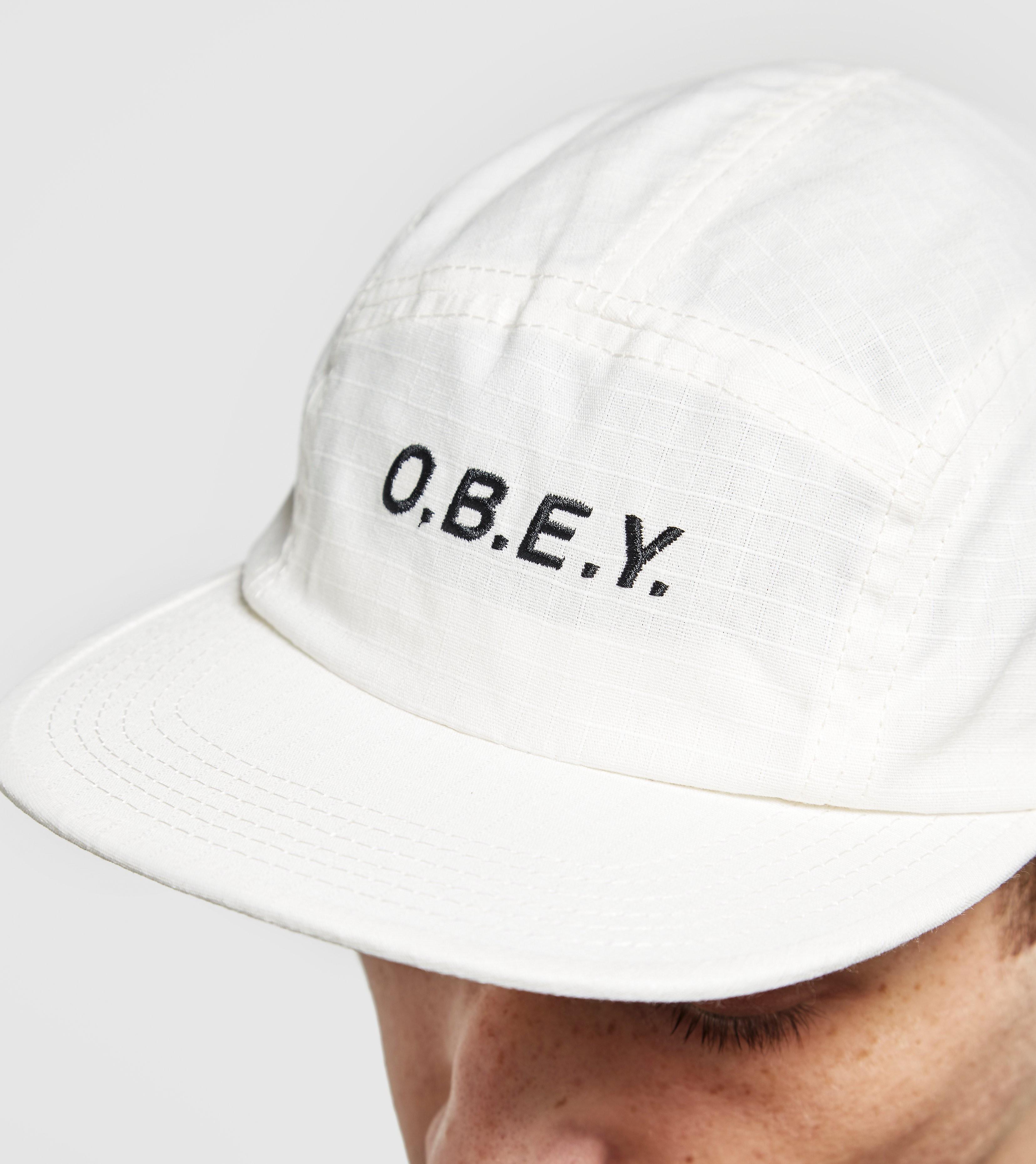 Obey Contoured 5 Panel Cap