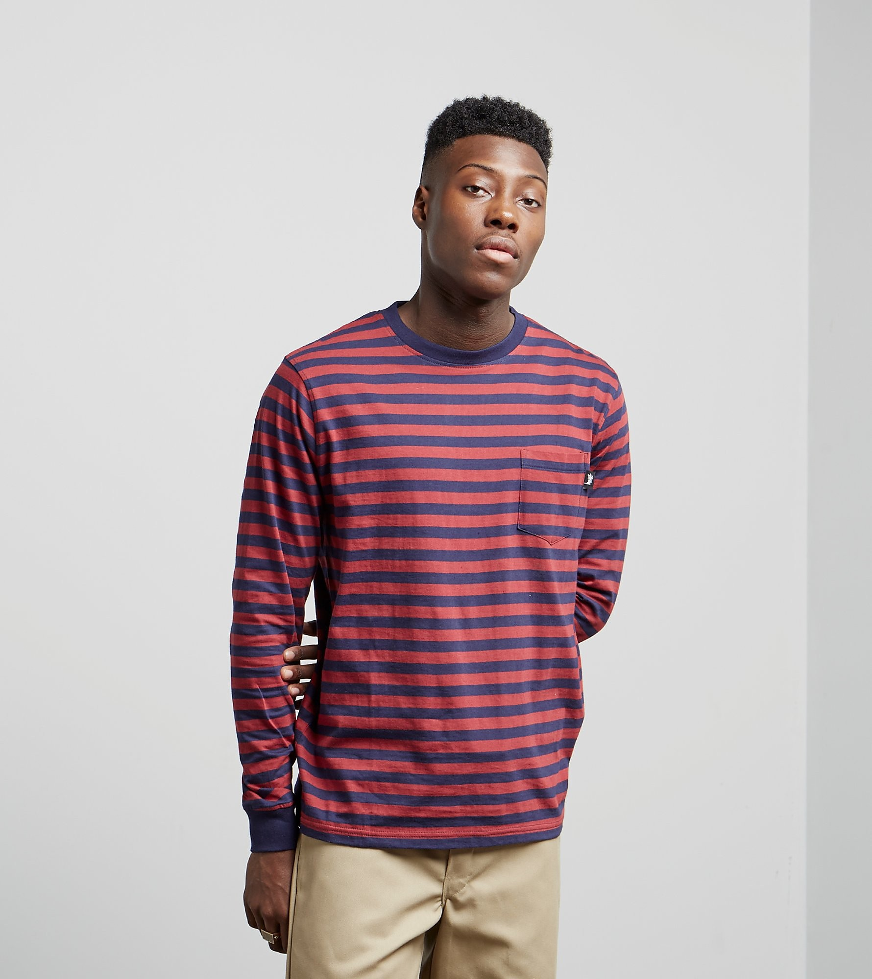 Stussy Classic Stripe Long-Sleeved T-Shirt