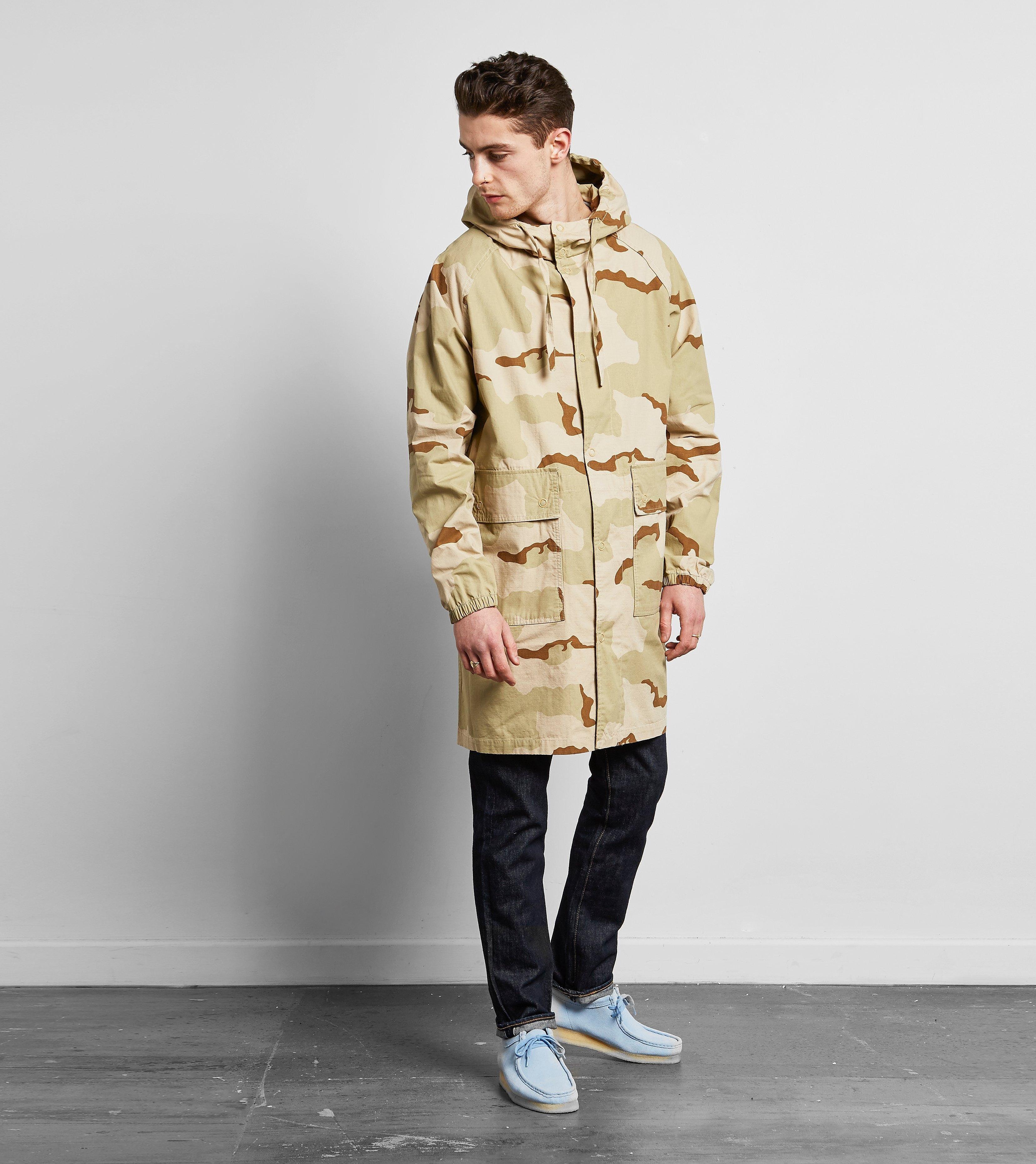 Stussy Long Ripstop Camo Jacket