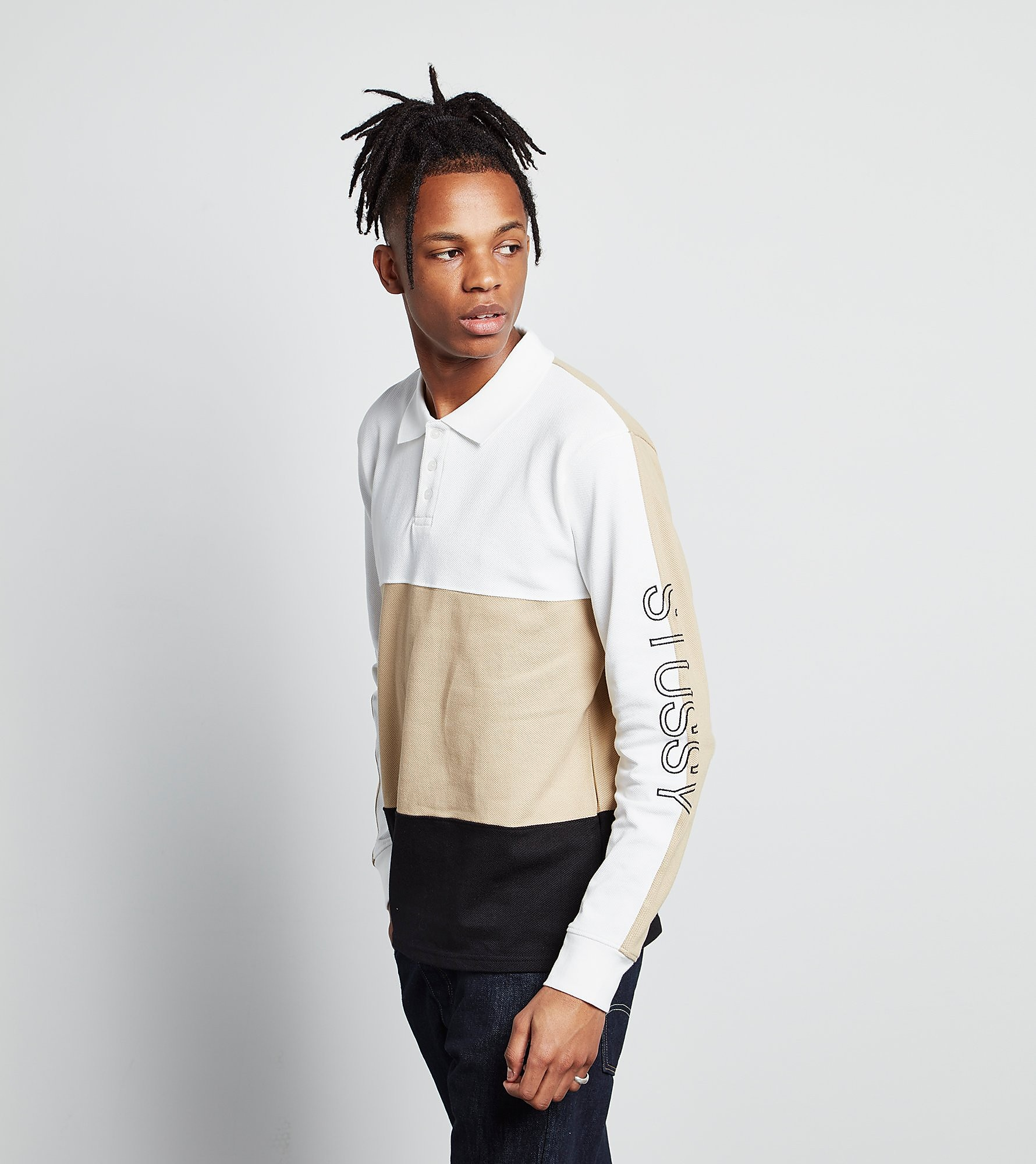 Stussy Long Sleeved Pique Polo