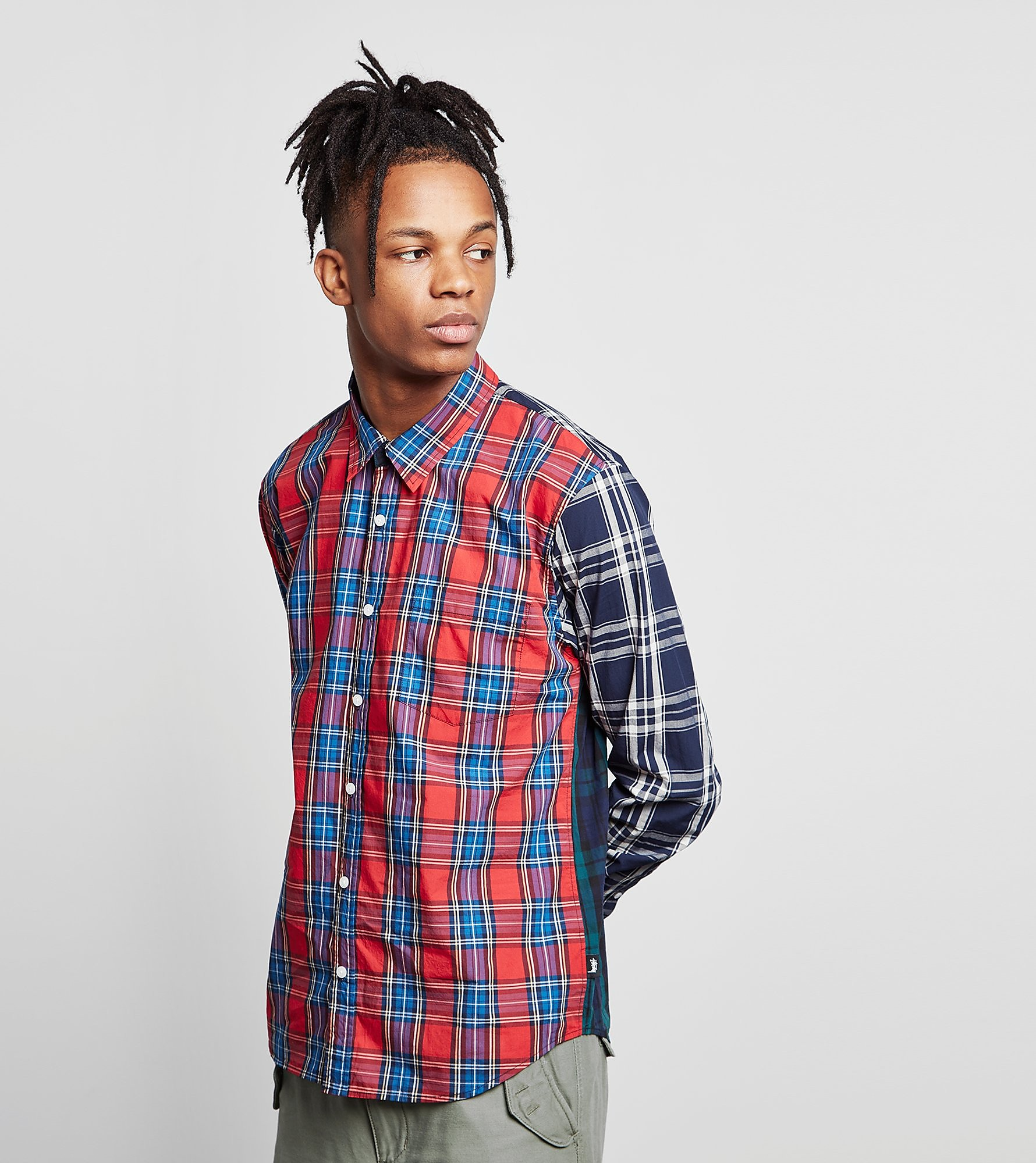 Stussy Mix Plaid Shirt