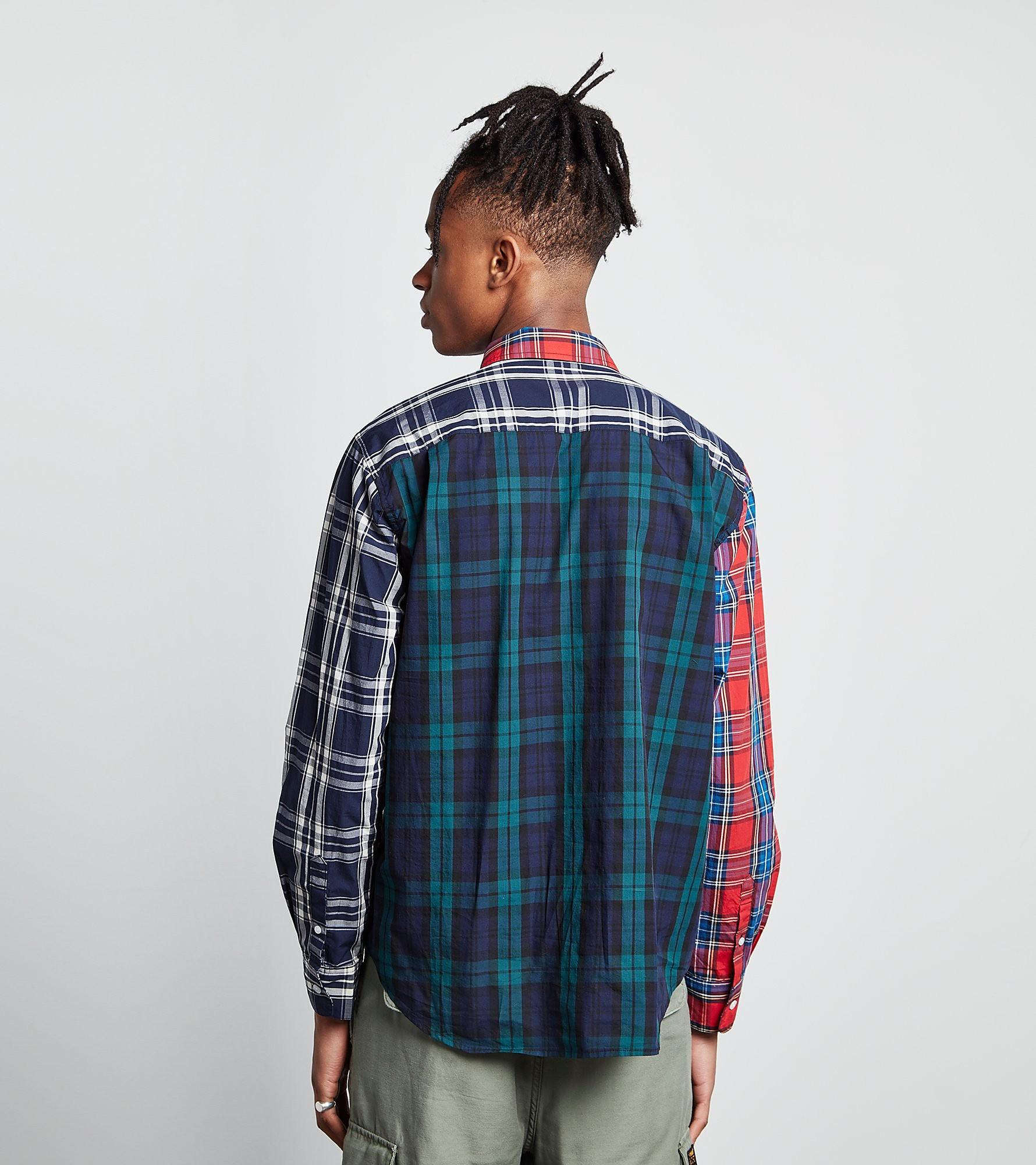 Stussy Mix Plaid Hemd