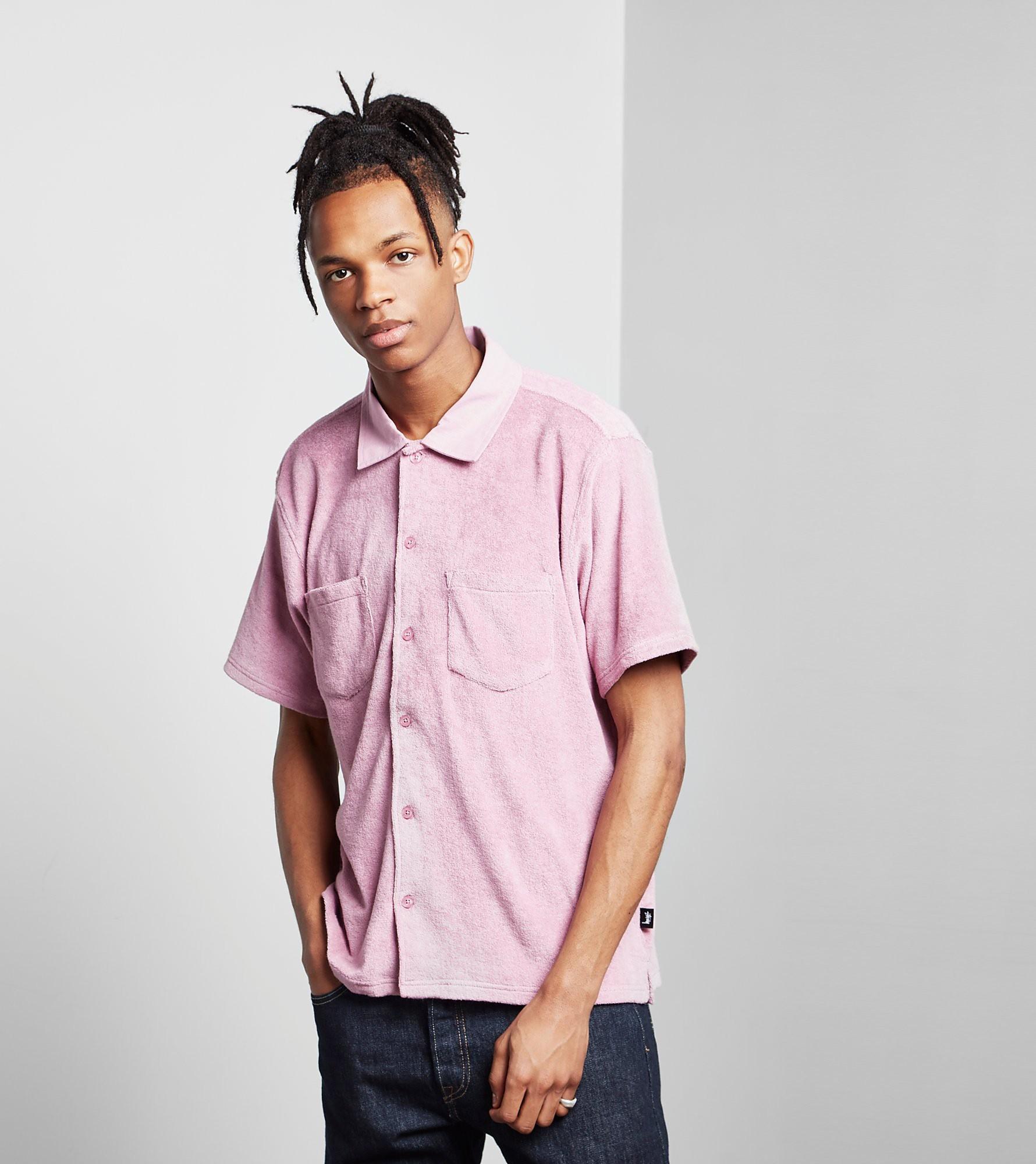Stussy Reverse Terry Polo Shirt