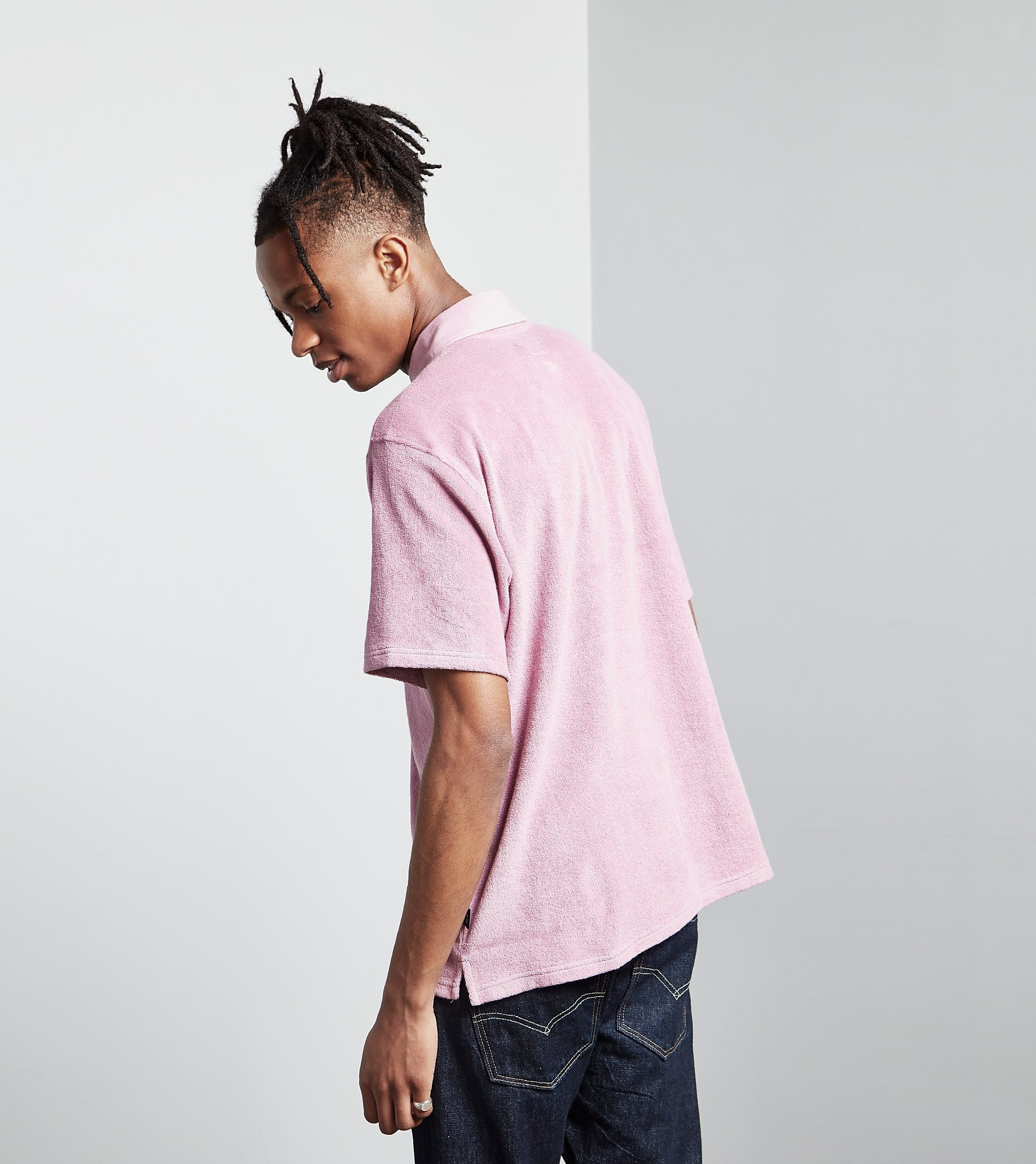 Stussy Reverse Terry Polo Shirt