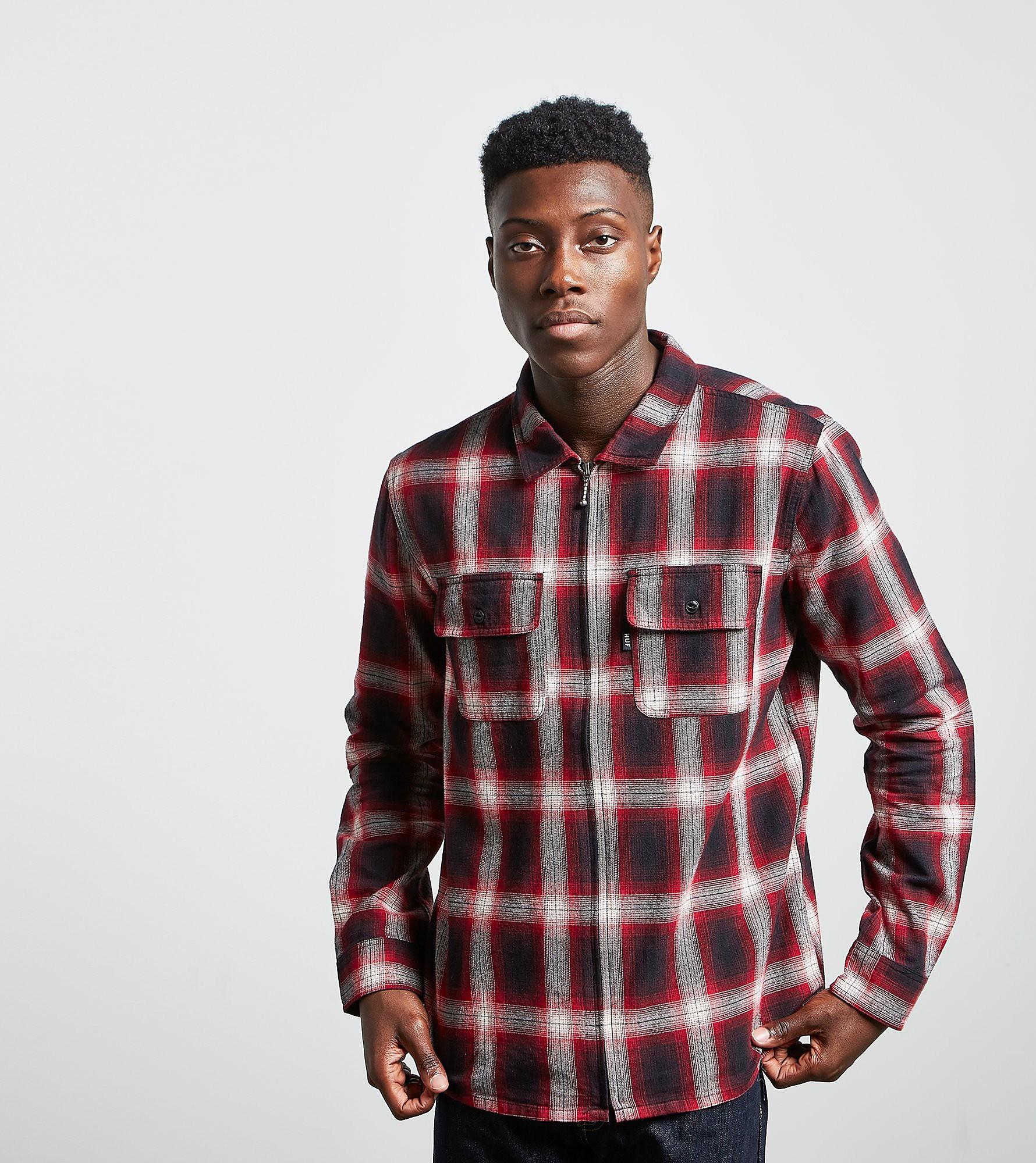 HUF Folsom Zip Shirt