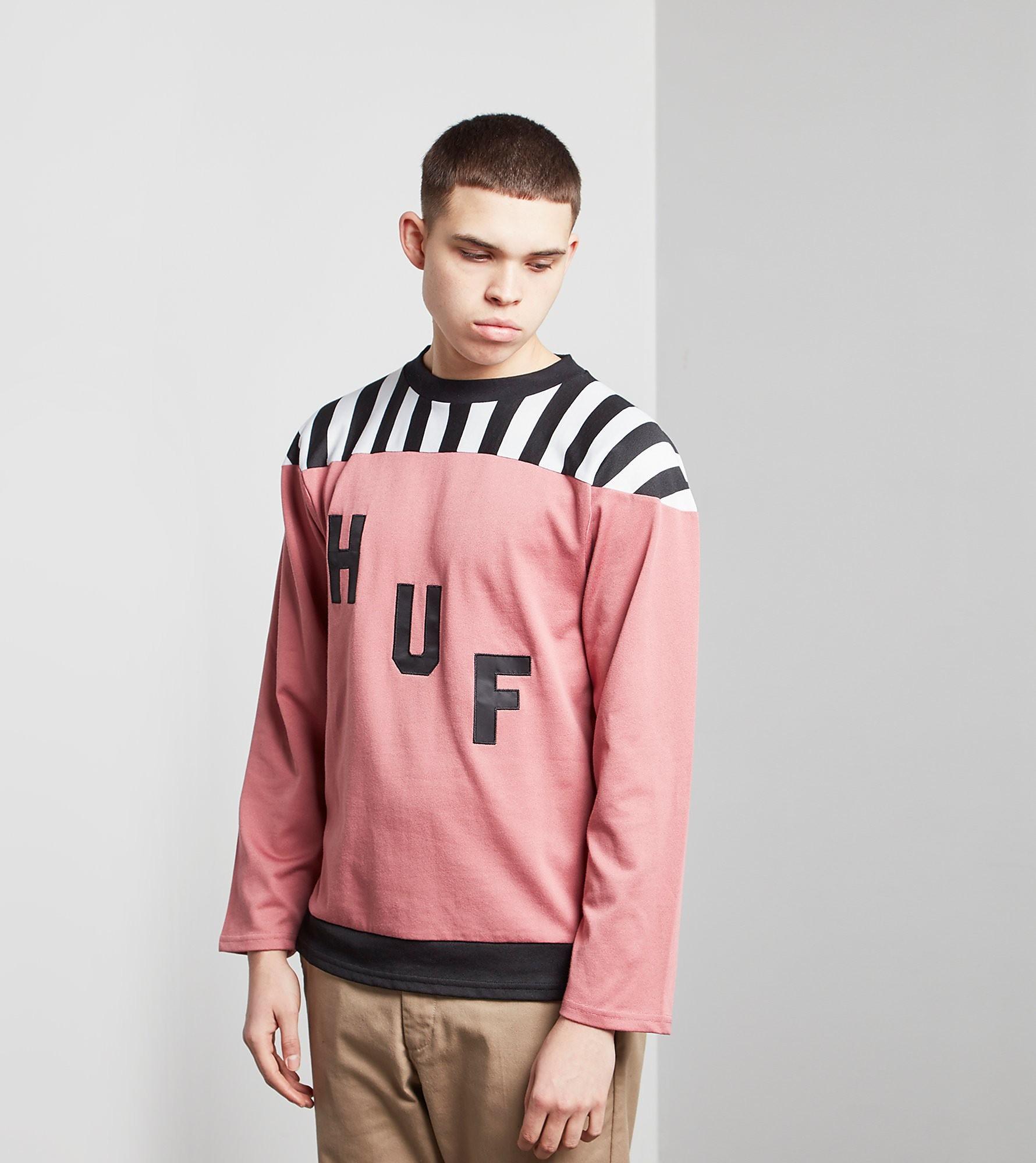 HUF Aggro Football Sweatshirt
