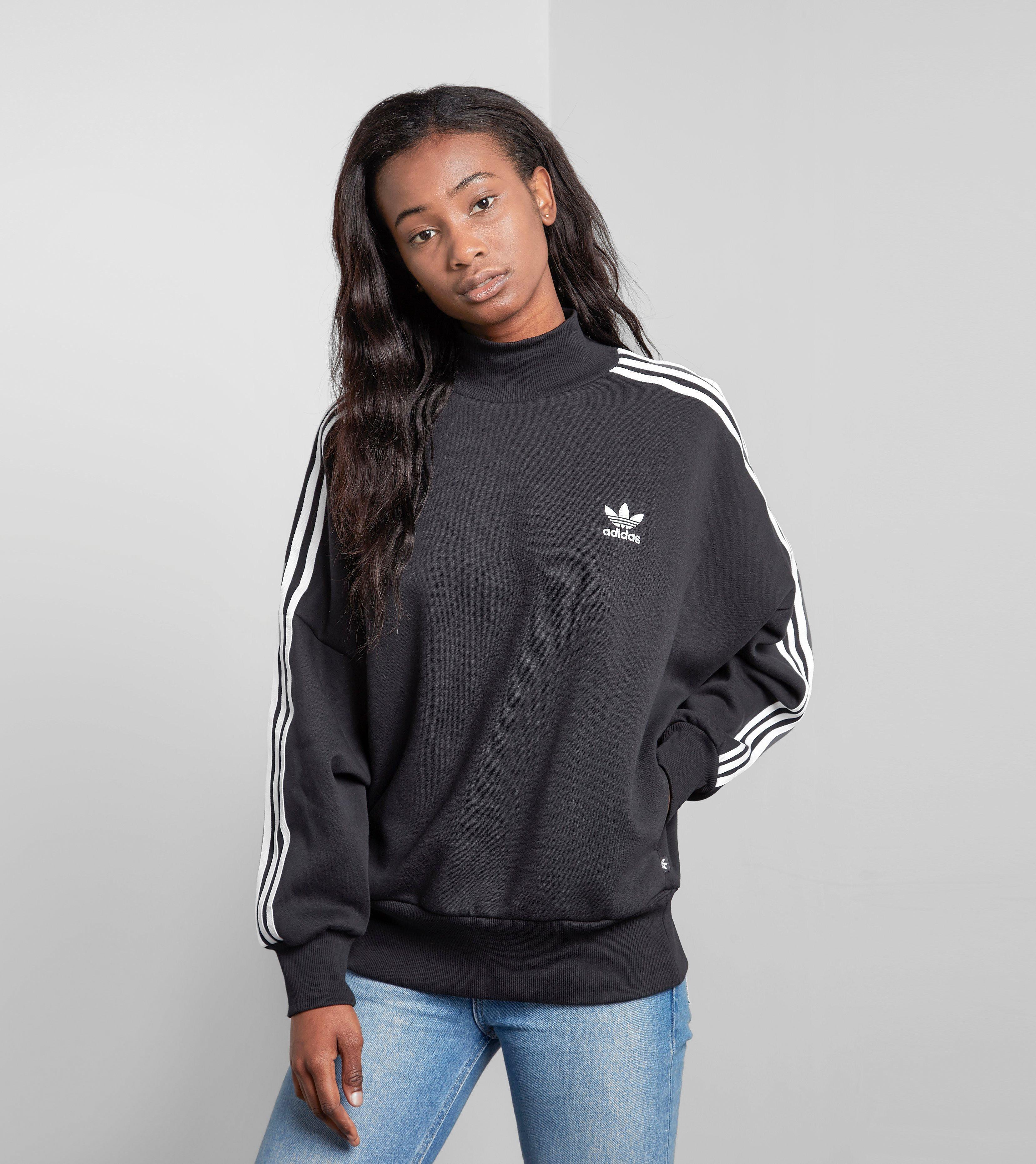 adidas Originals 3 Stripes Turtleneck Sweatshirt