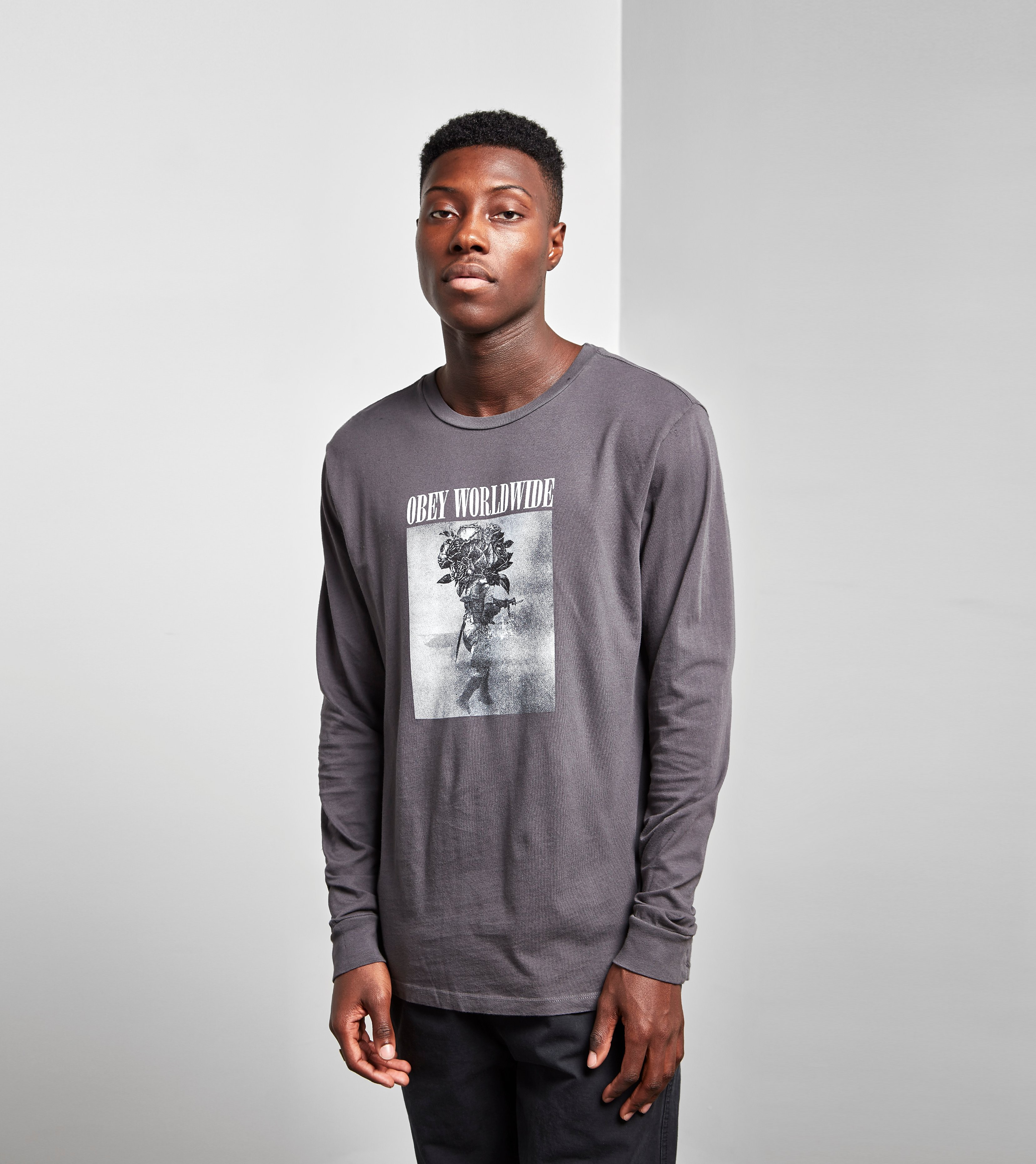 Obey Long-Sleeved Destruct Bloom T-Shirt