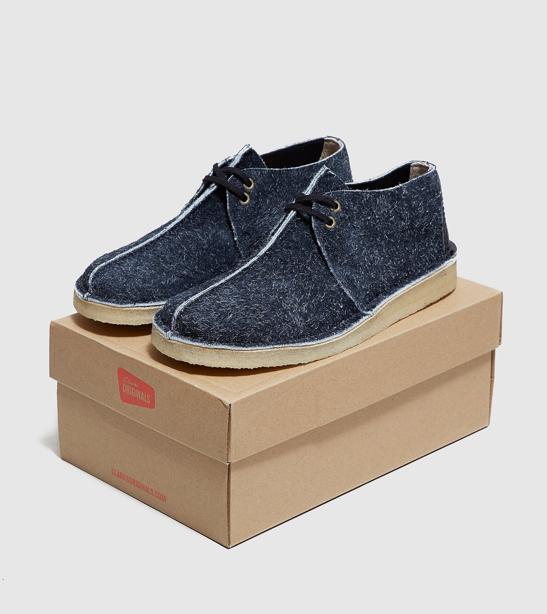 Clarks Originals Desert Trek Hairy Suede