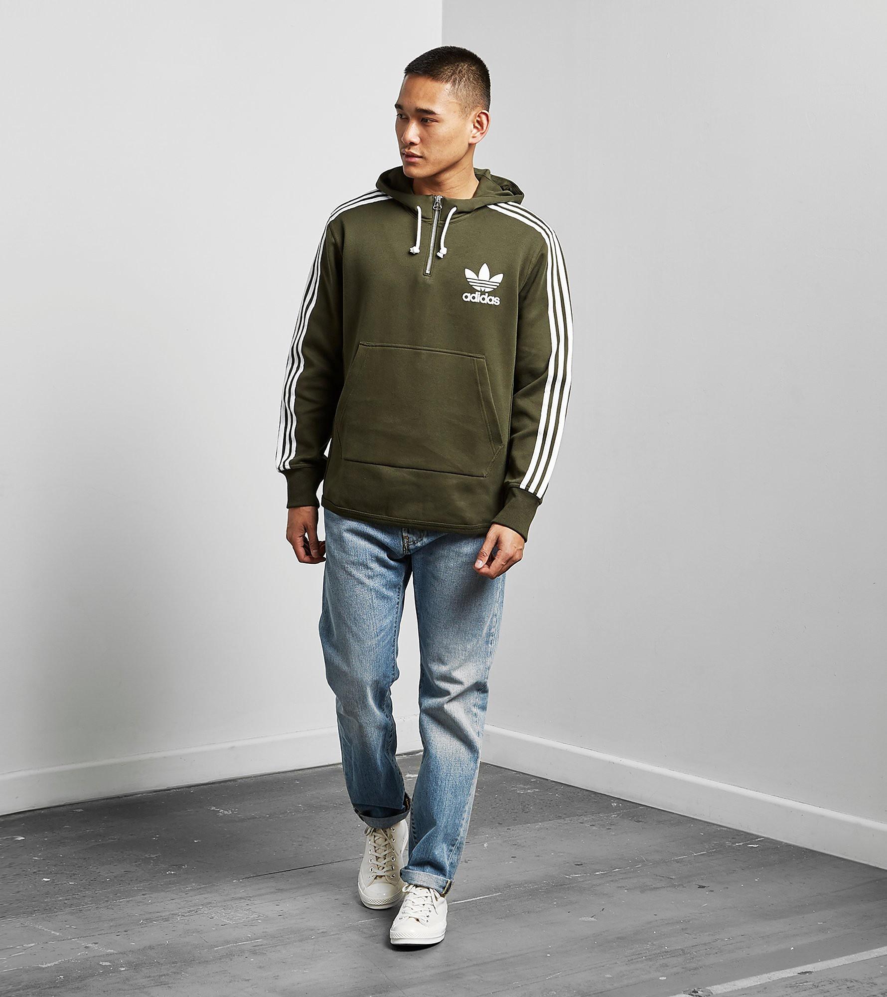 adidas Originals ADC Half-Zip Hoody - size? Exclusive