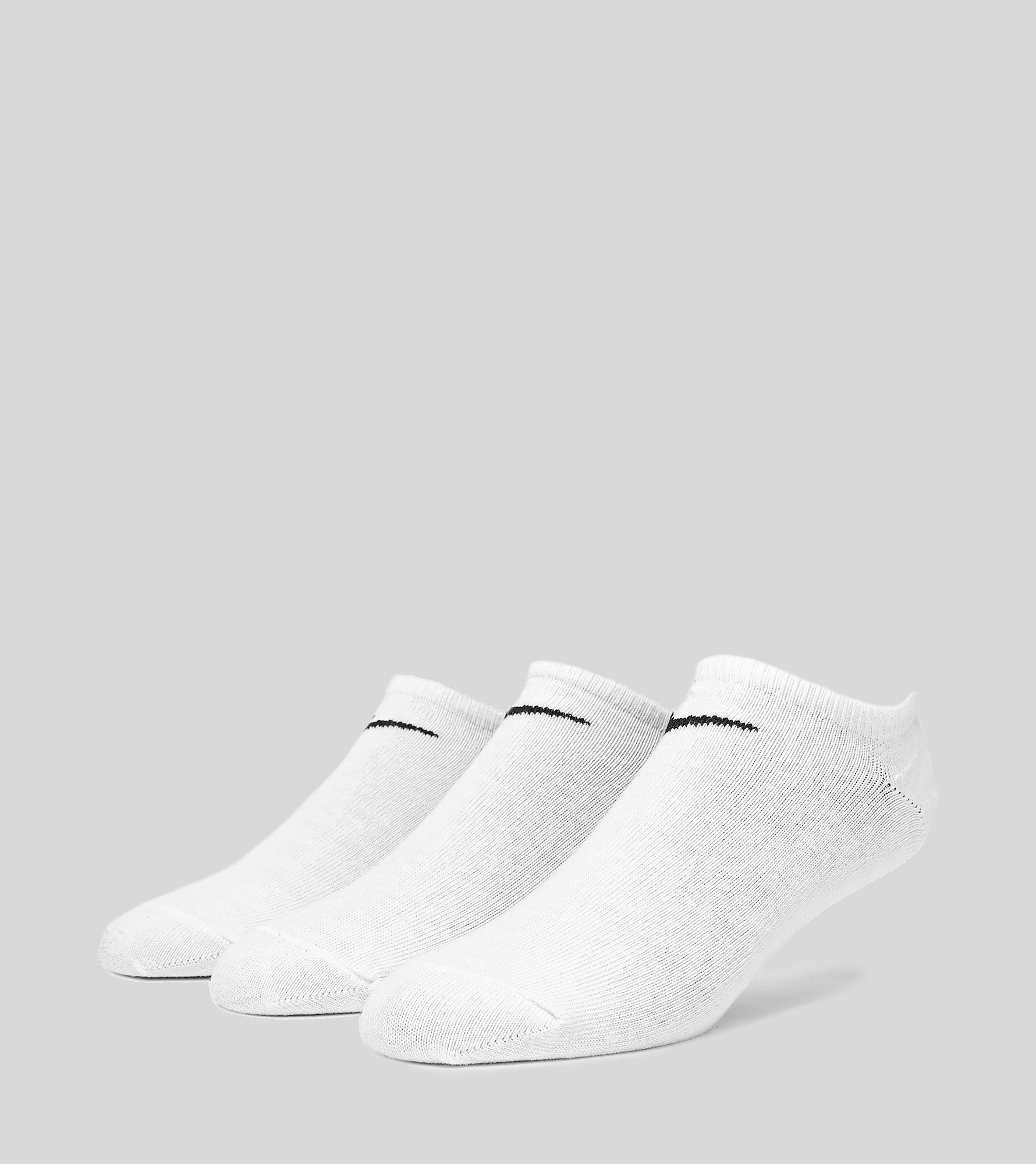 Nike Cushioned No-Show 3 Pack Socks