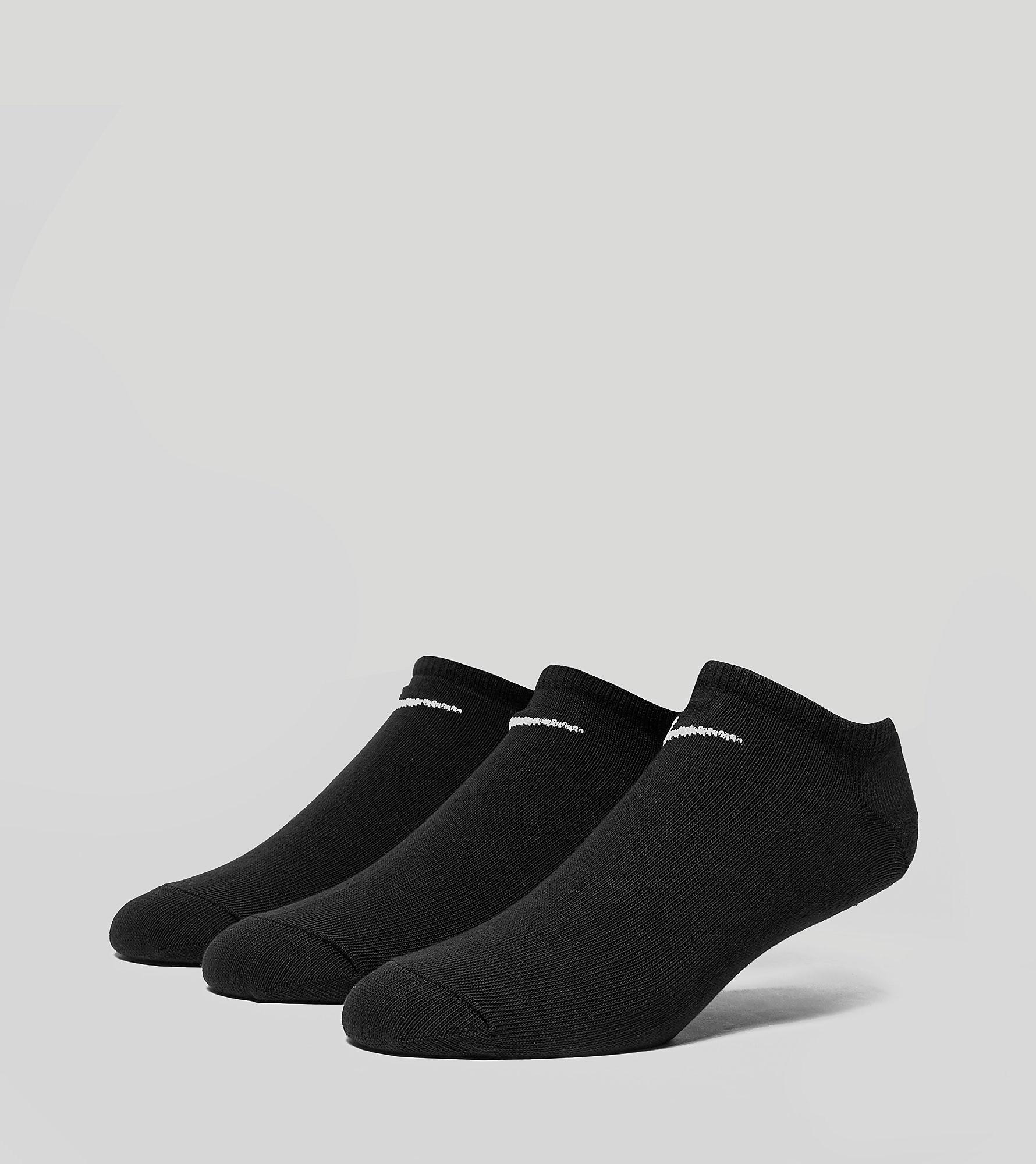Nike Cushioned No-Show 3 Pack Socks