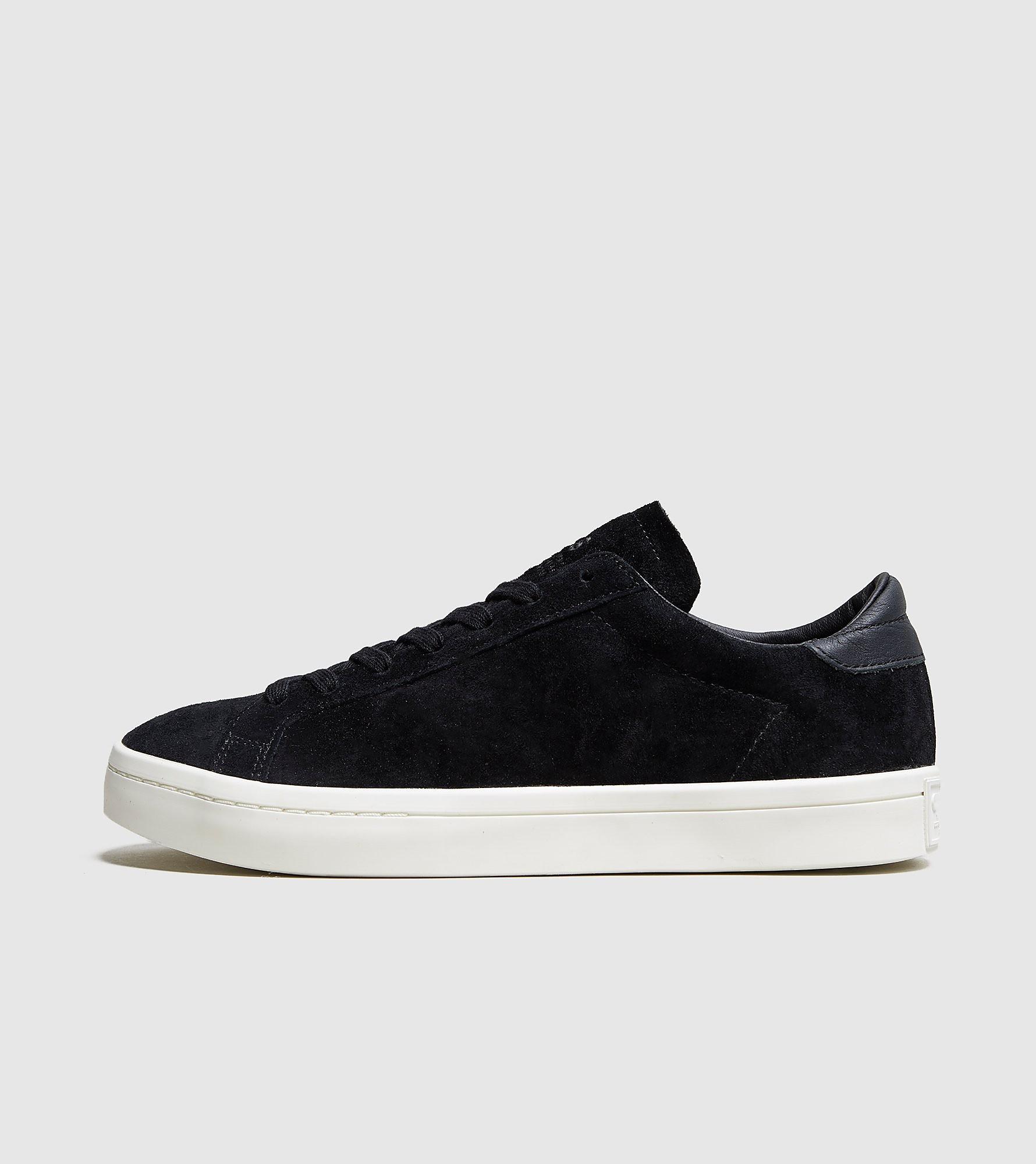 adidas Originals Court Vantage Suede - size?exclusive, Black