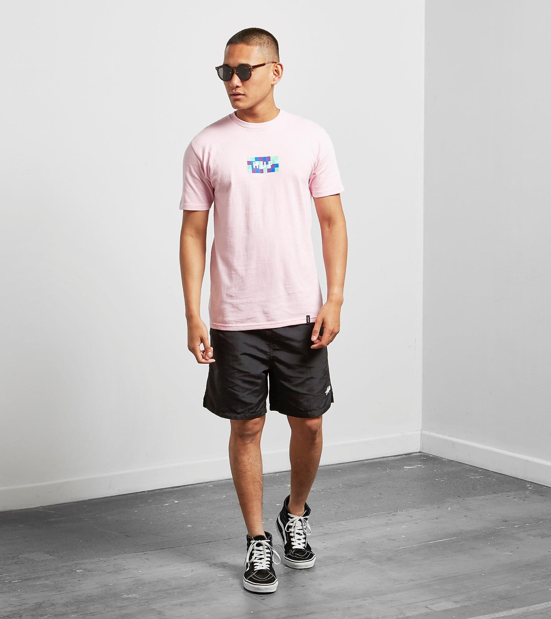 HUF Colour Block Logo T-Shirt