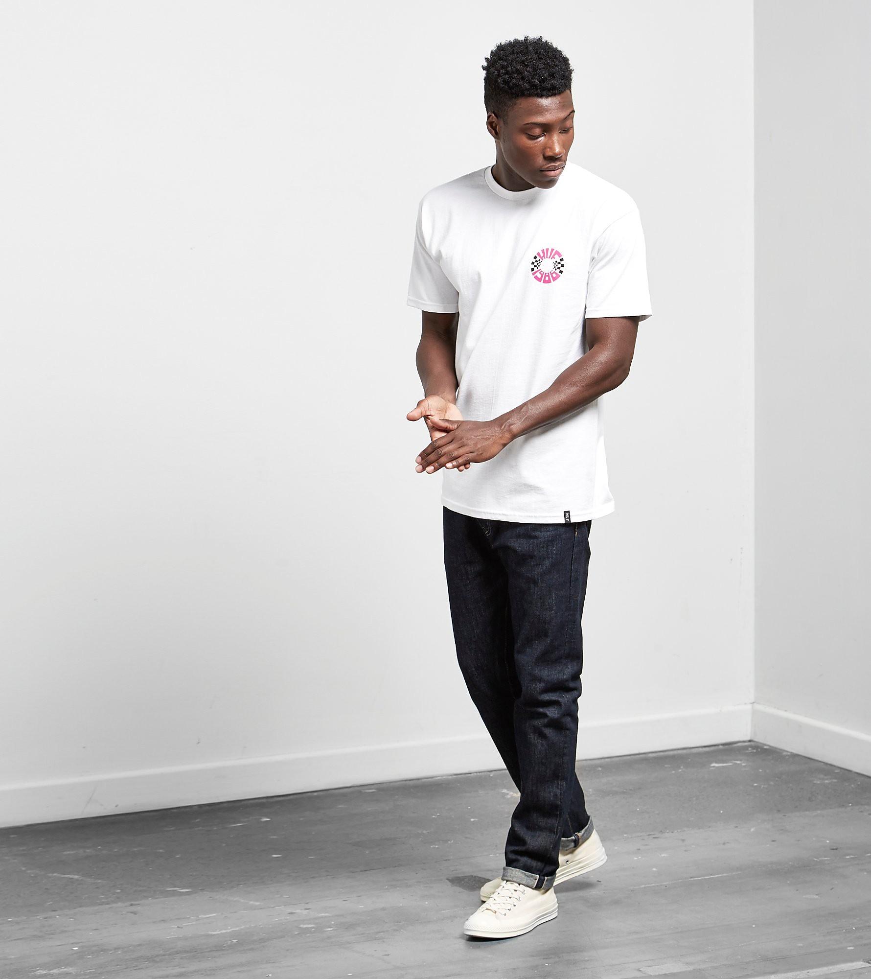 HUF Check Circle T-Shirt