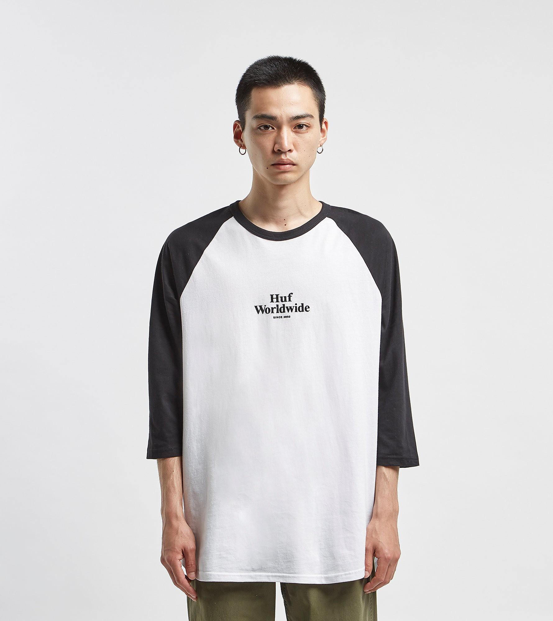 HUF Worldwide Raglan T-Shirt