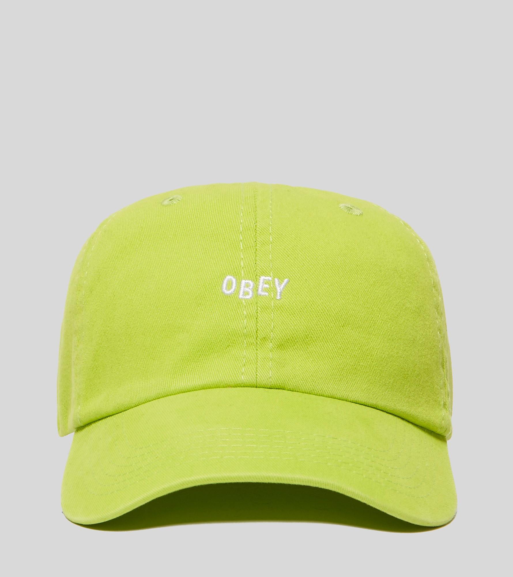 Obey Jumble Bar Strapback Cap