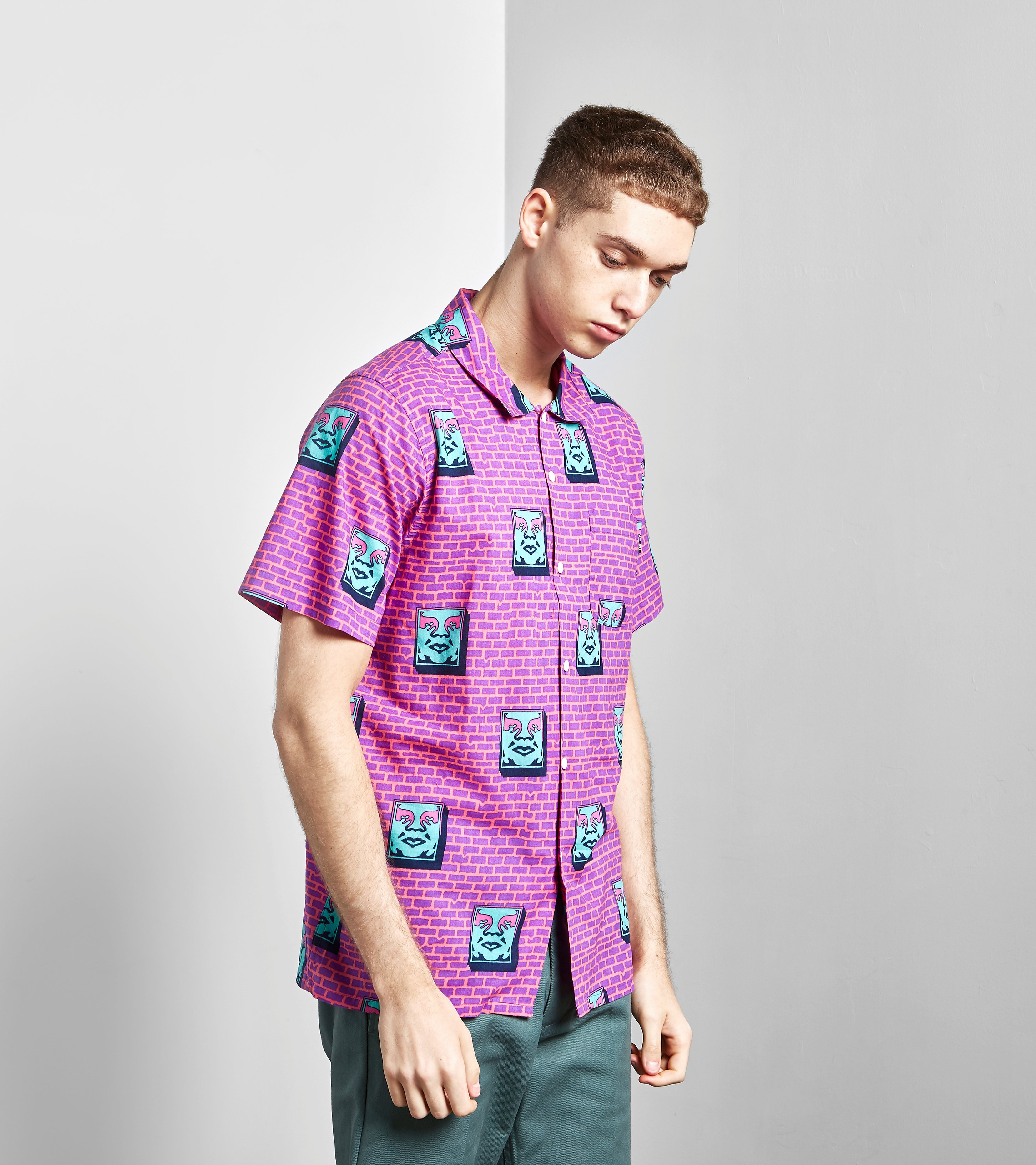 Obey Brick Short-Sleeved Shirt