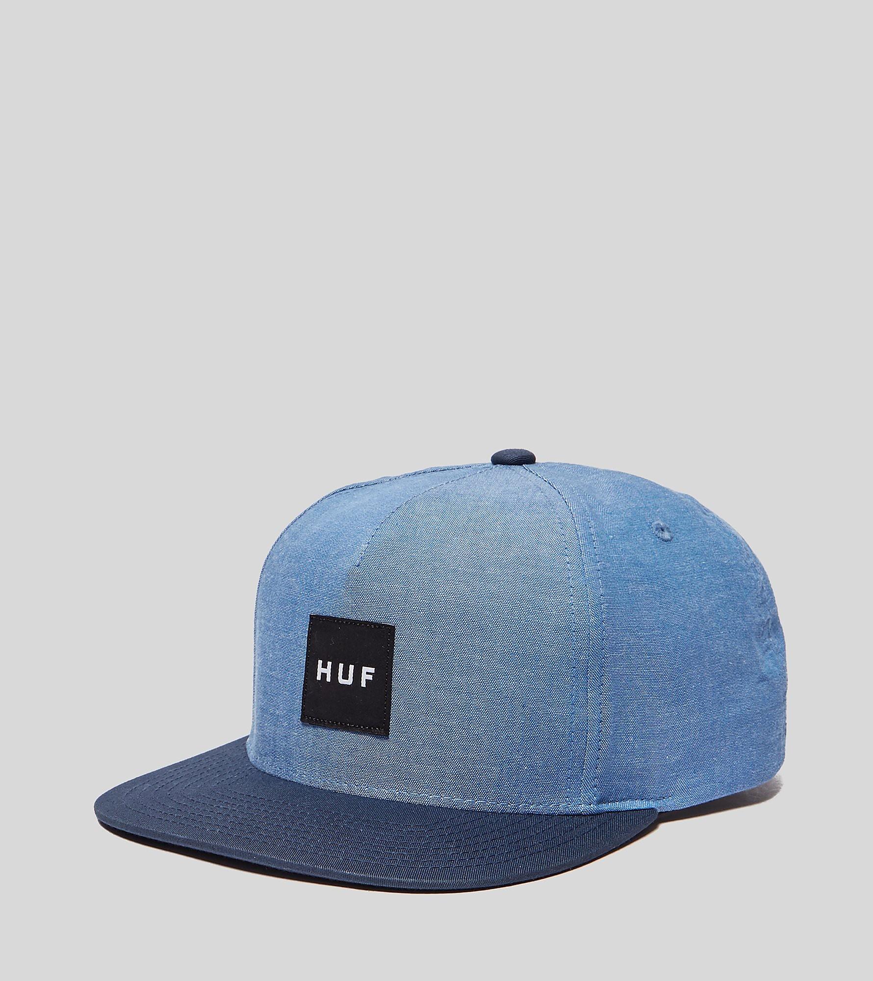 HUF Chambray Box Logo Snapback Cap