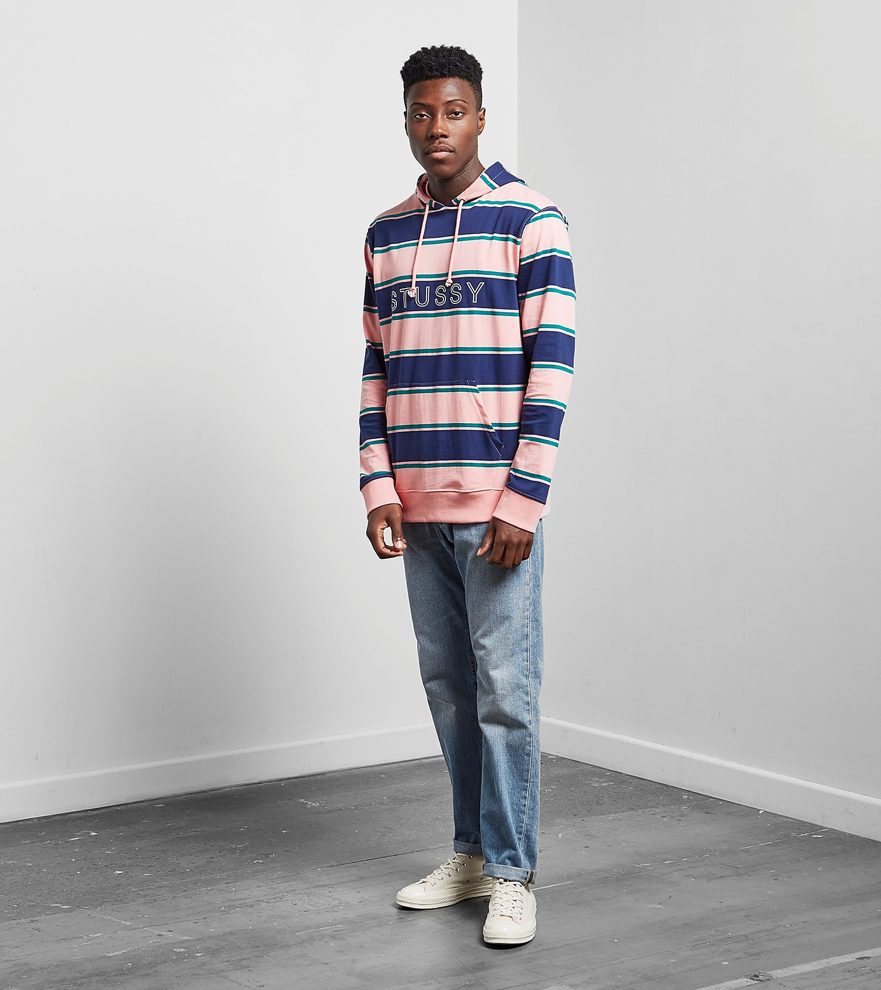 Stussy Heavy Striped Hoody
