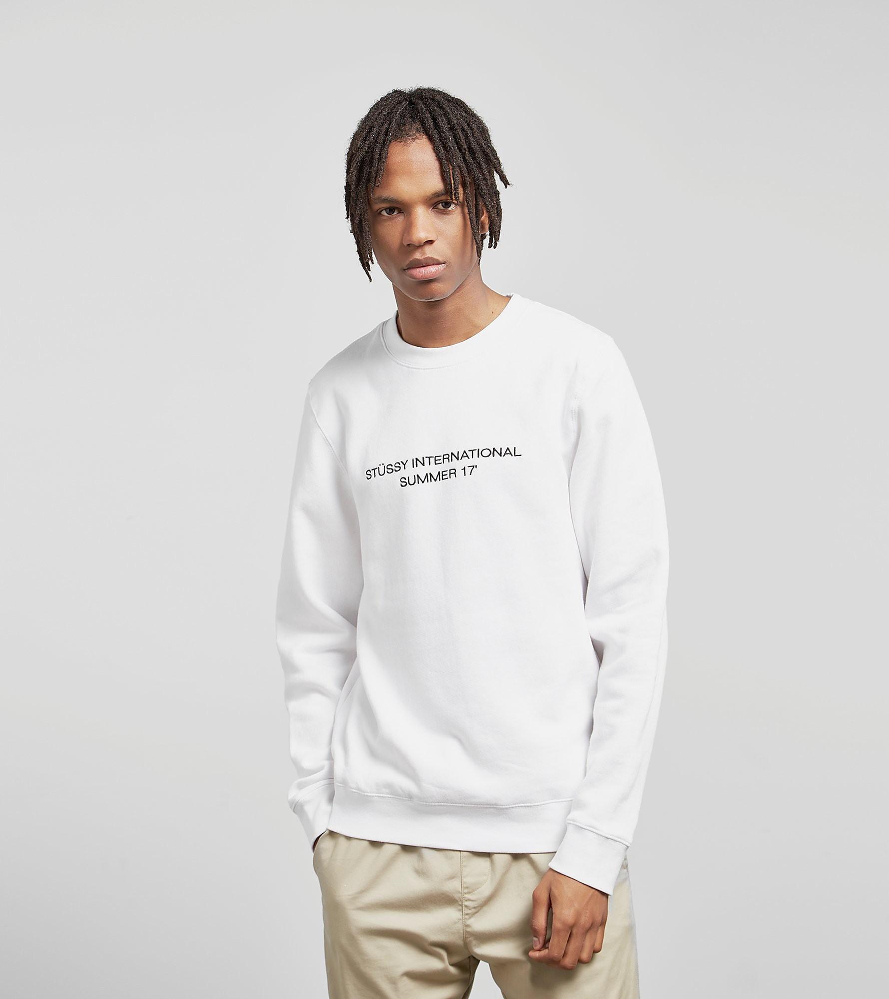 Stussy International Summer Crew Sweatshirt