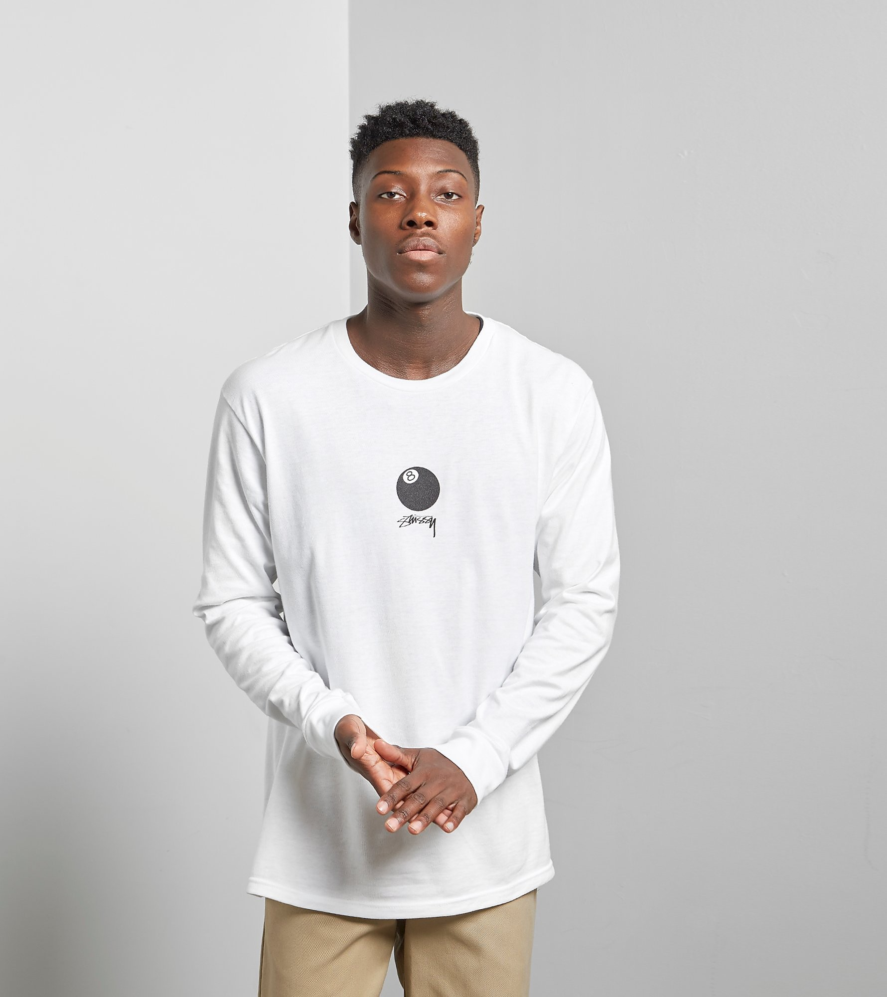 Stussy Long Sleeved 8 Ball T-Shirt