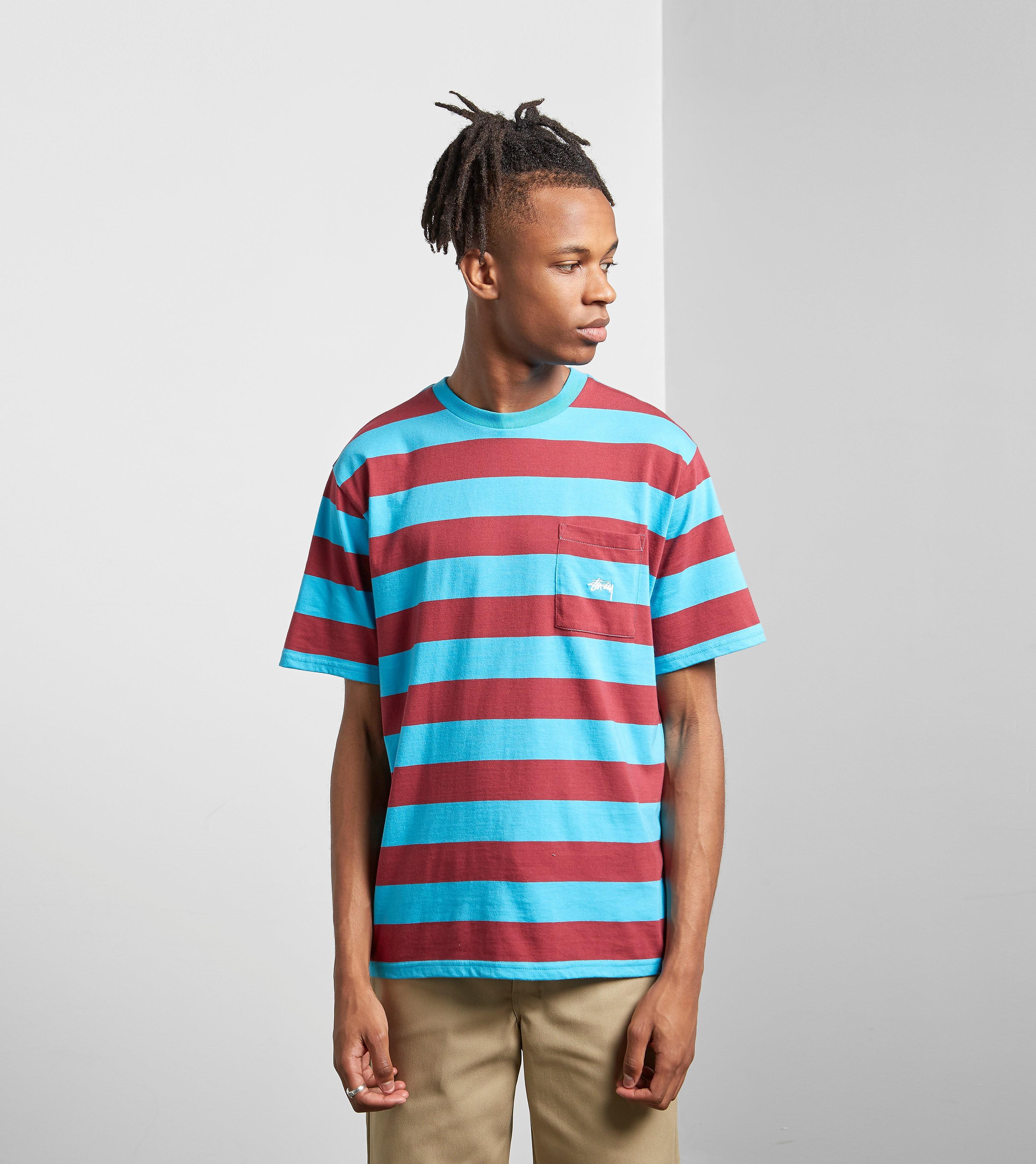 Stussy Range Stripe T-Shirt