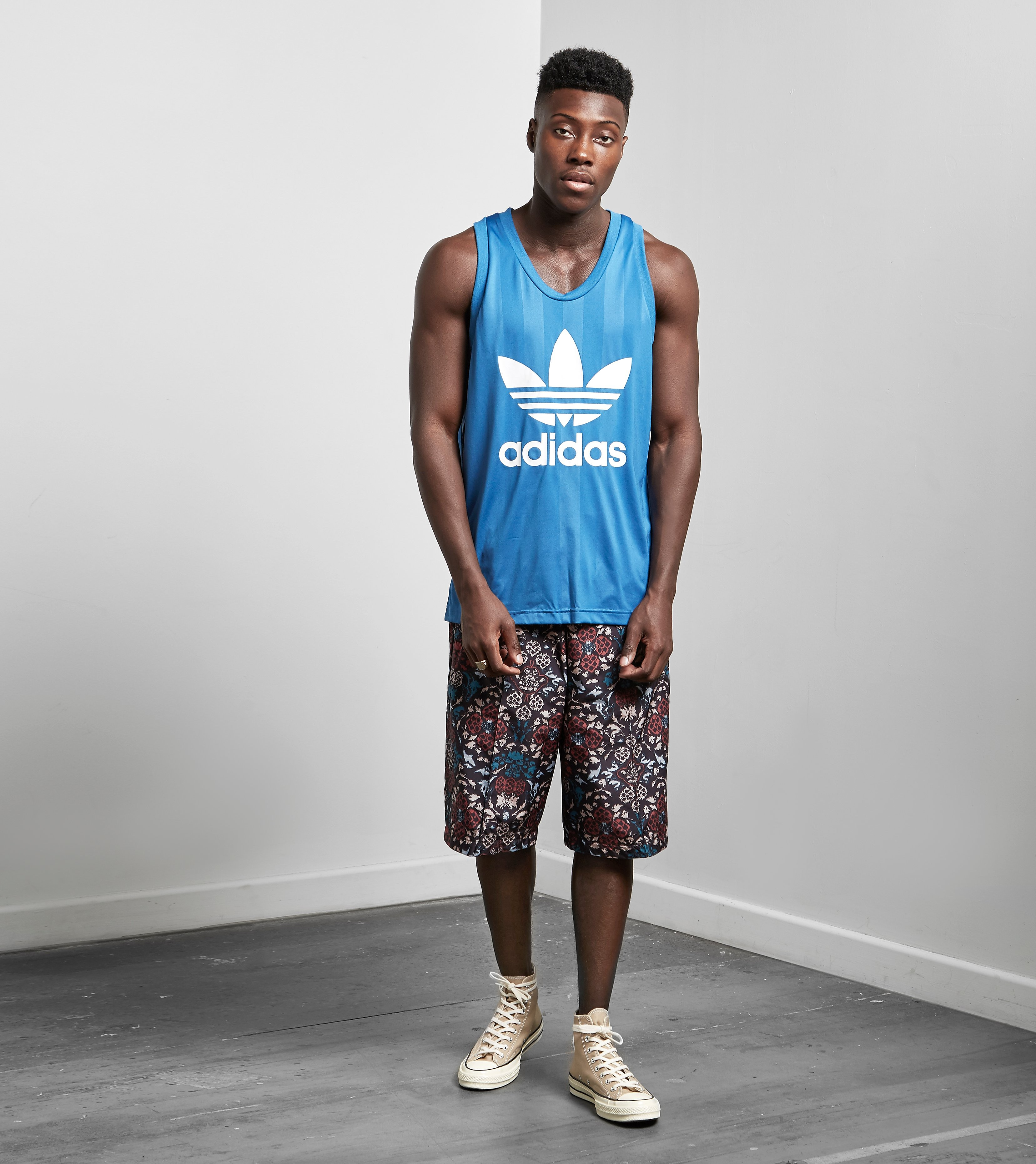 adidas Originals Three Stripe Printed Shorts