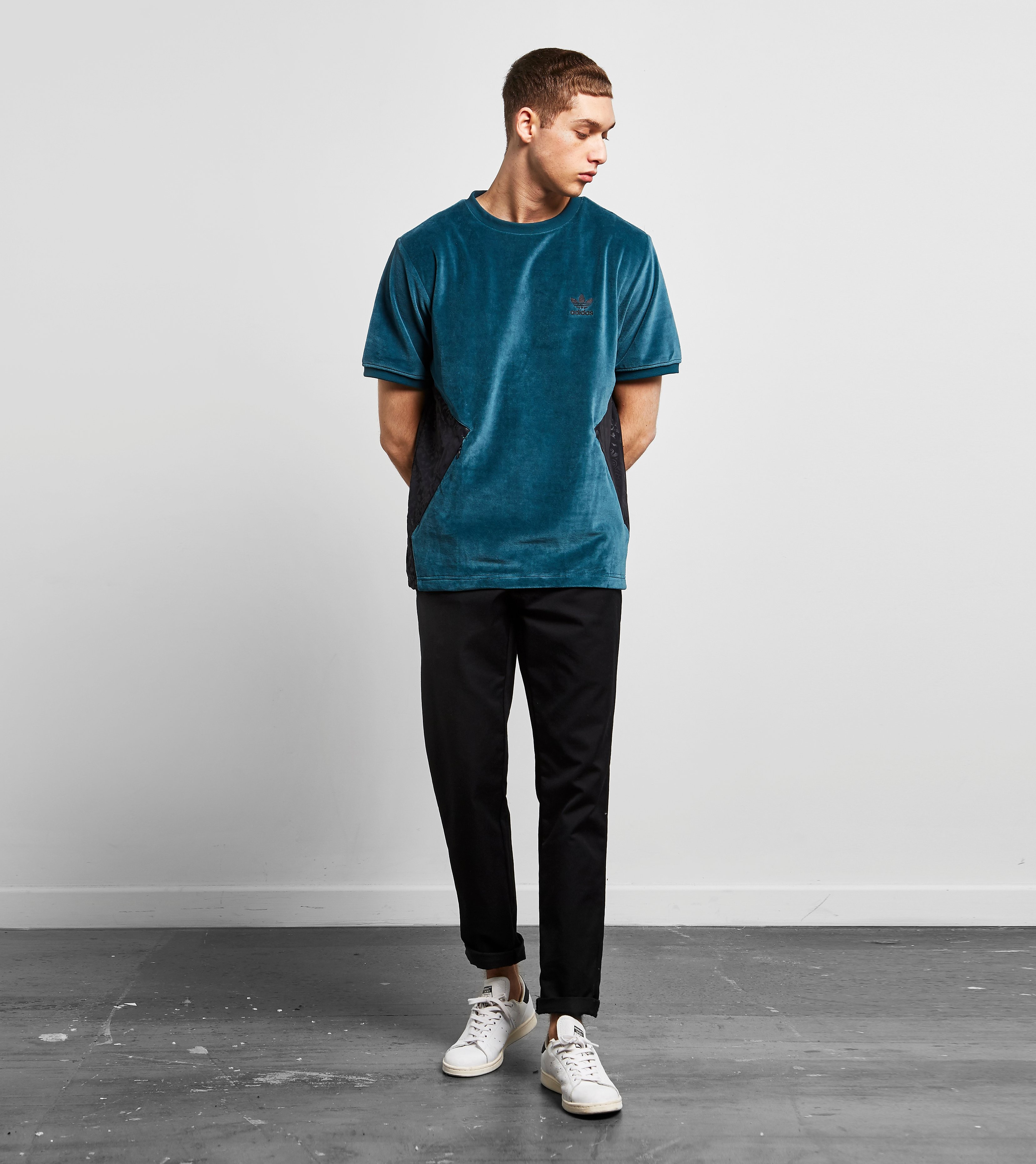 adidas Originals Velour Crew T-Shirt