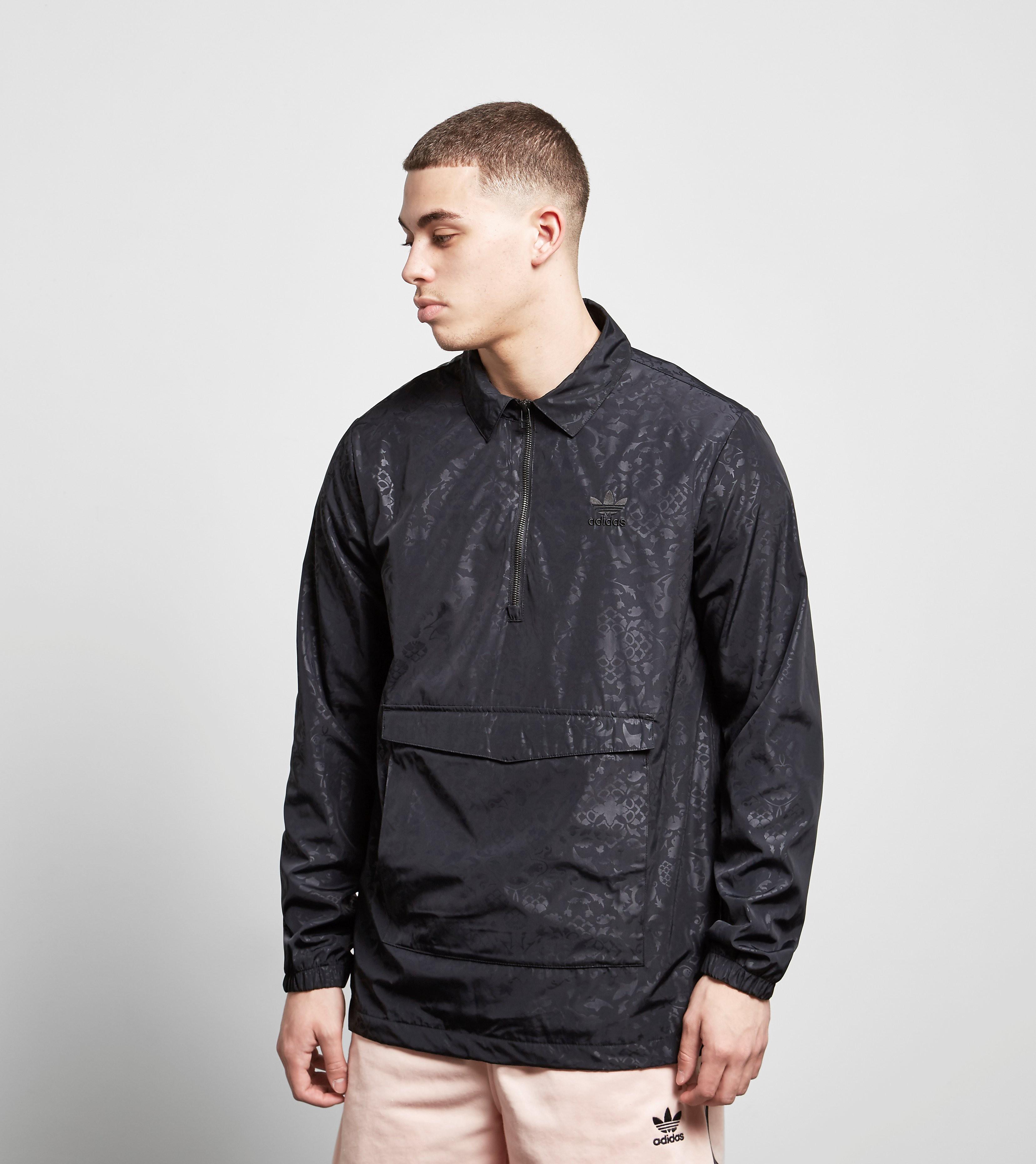 adidas Originals Half-Zip Print Coach Jacket