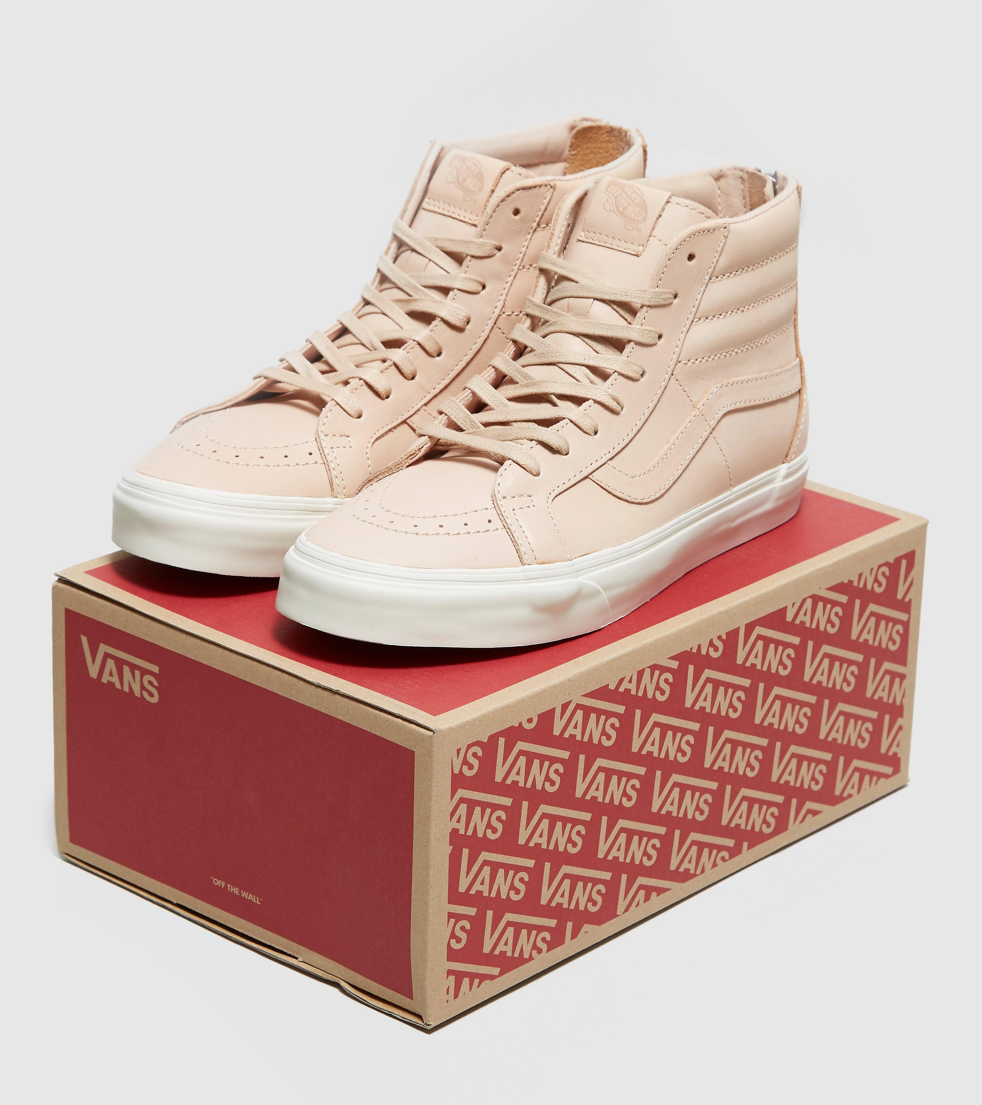 Vans Sk8-Hi Zip DX Veg Tan Leather