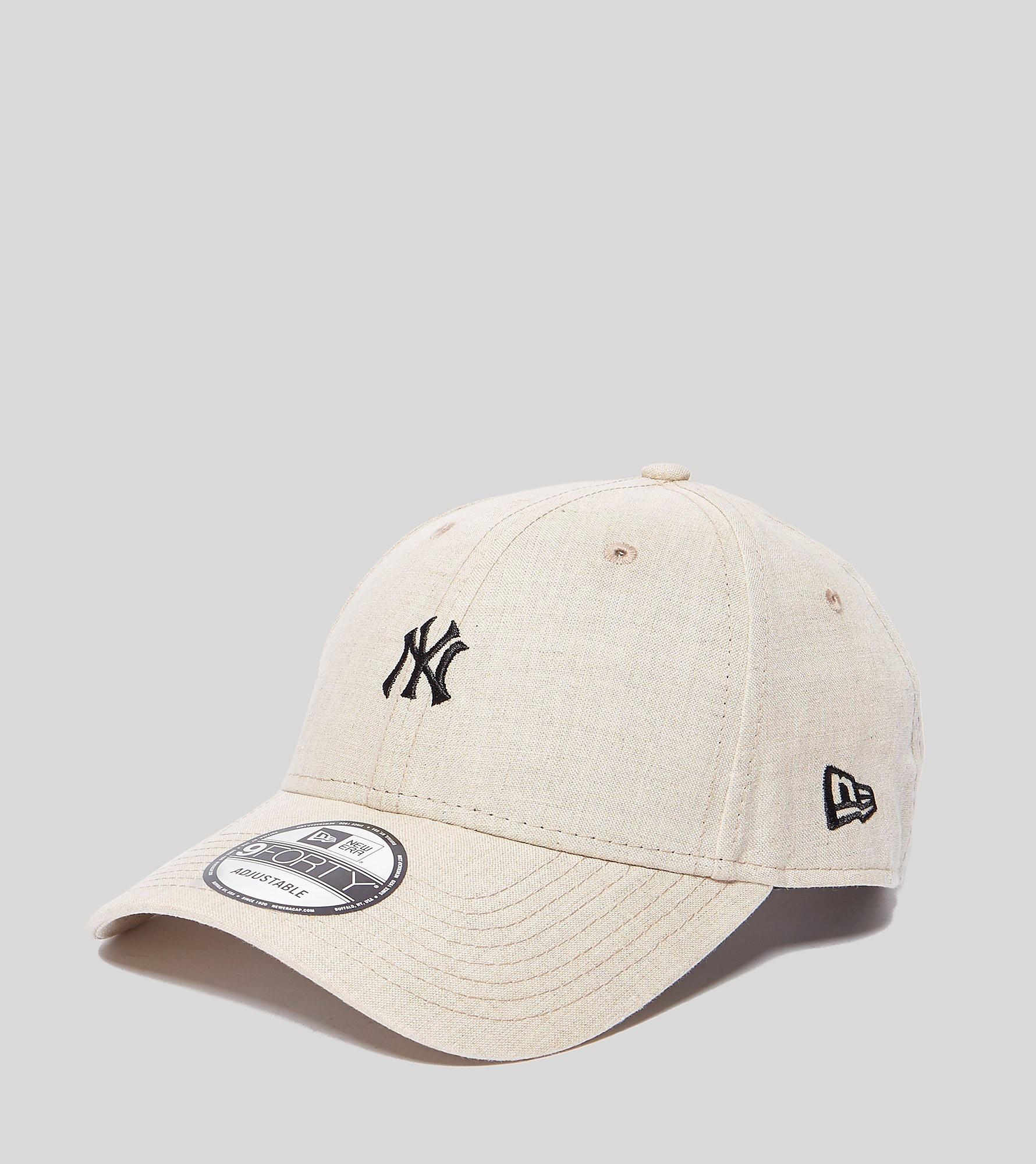 New Era 9FORTY Linen NY Cap