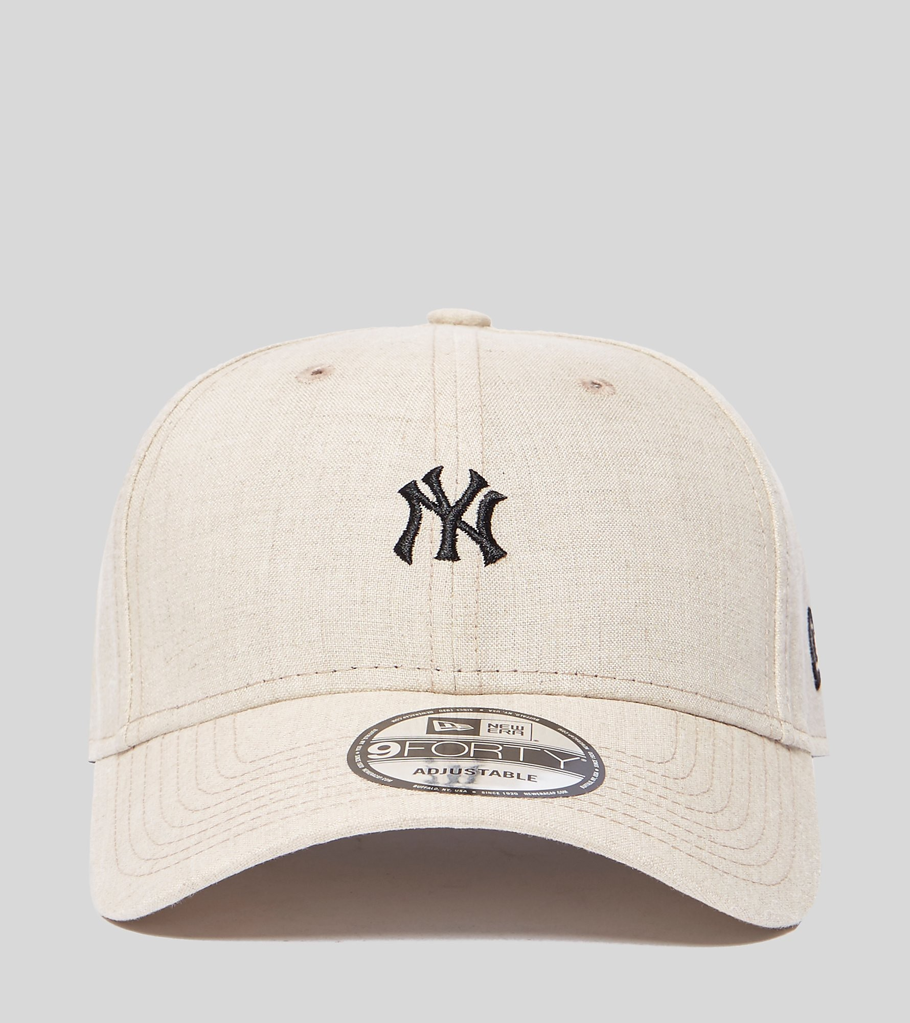New Era 9FORTY Linen NY Cap