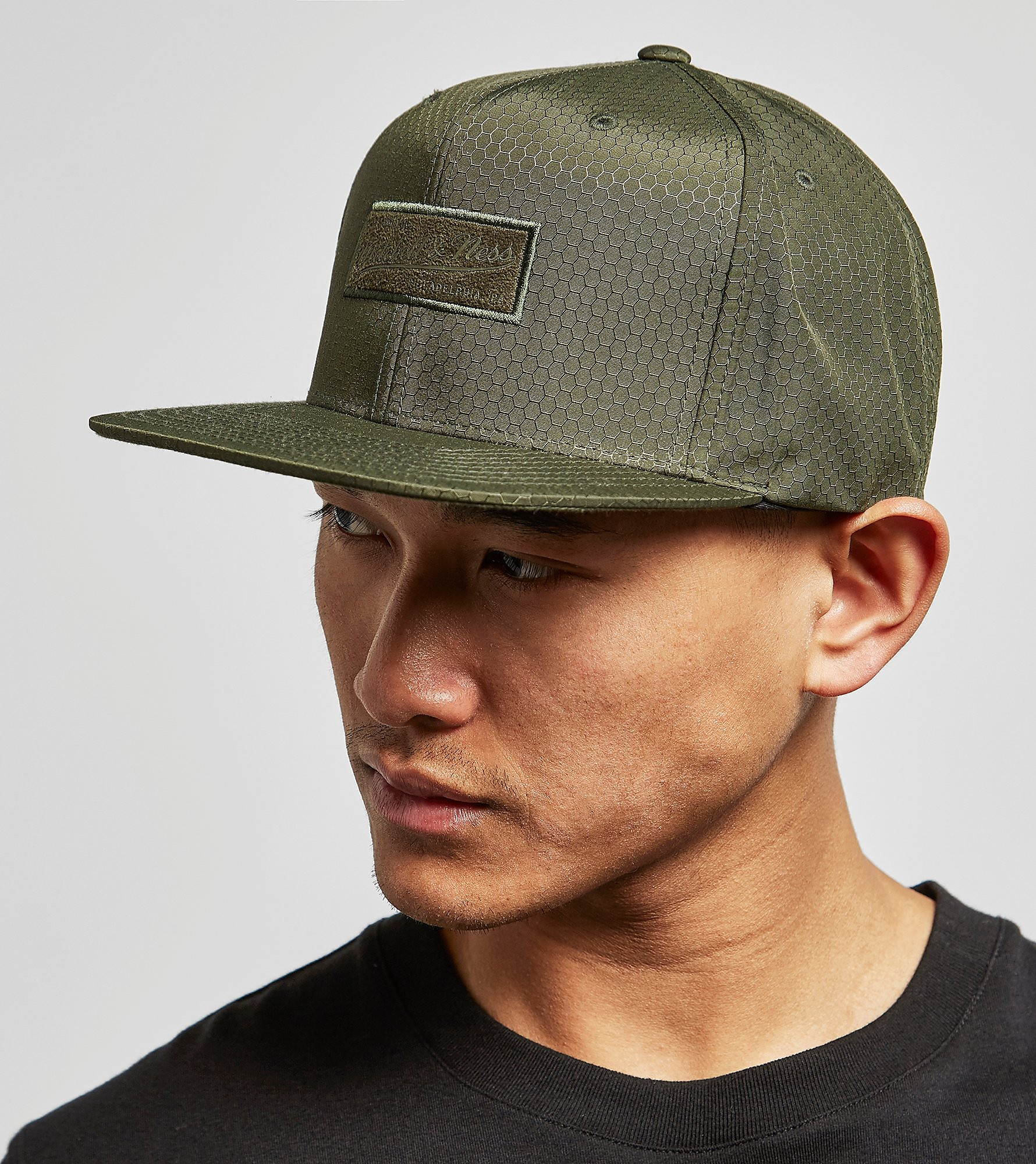 Mitchell & Ness Suede Logo Snapback Cap - size? Exclusive