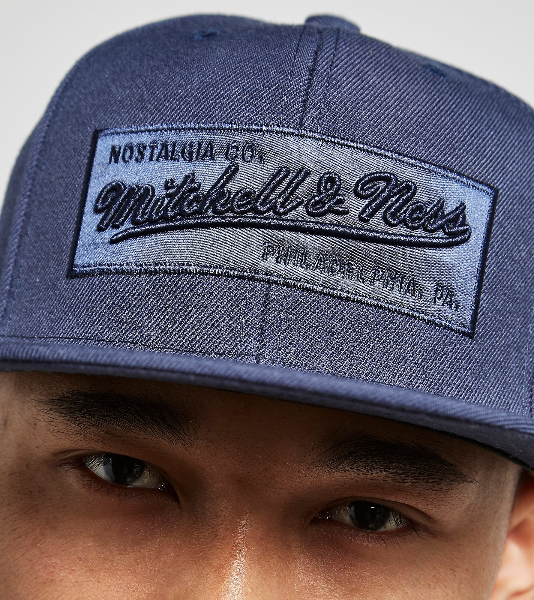 Mitchell & Ness Box Logo Cap