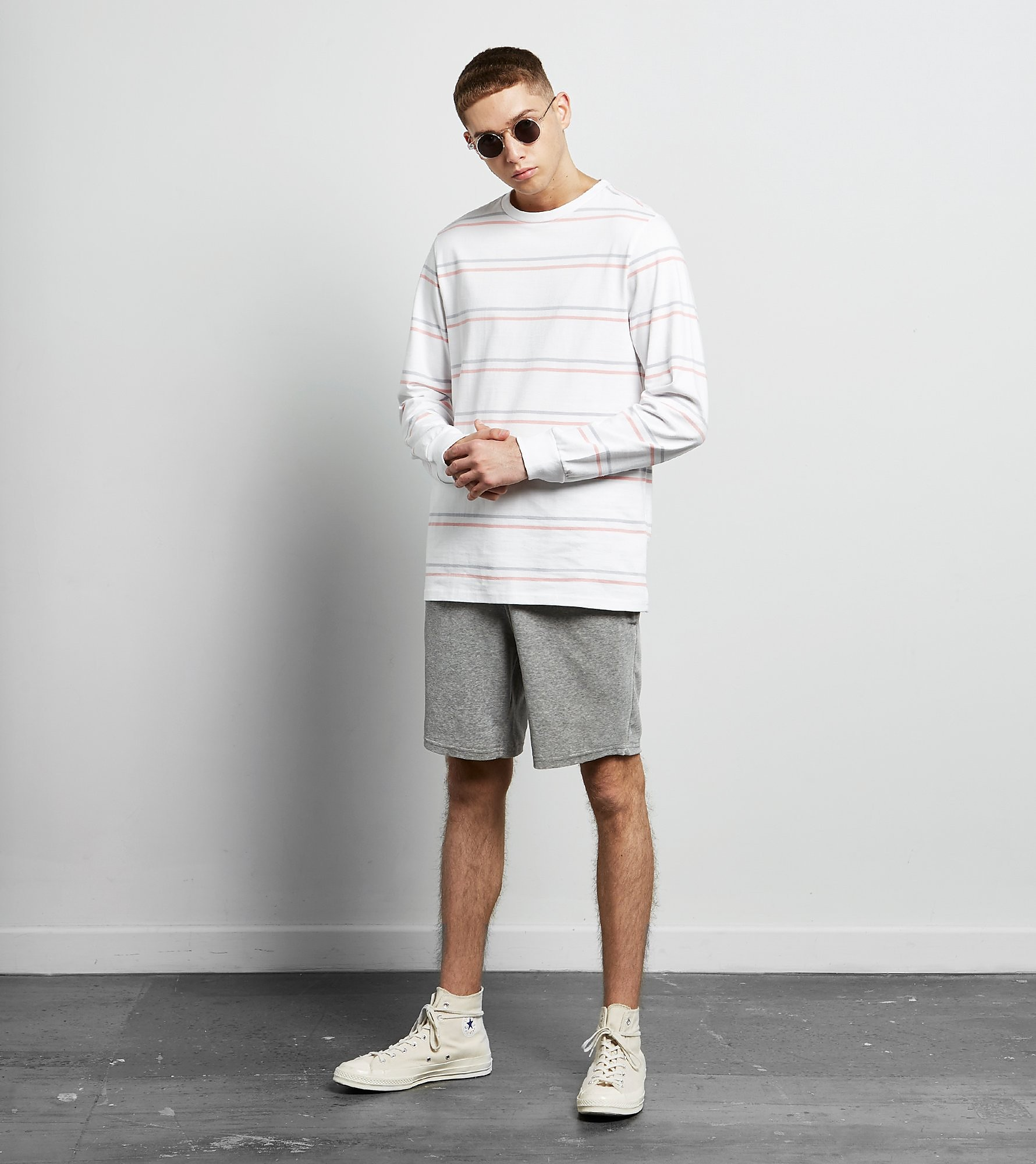 size? essentials Record Velour Shorts