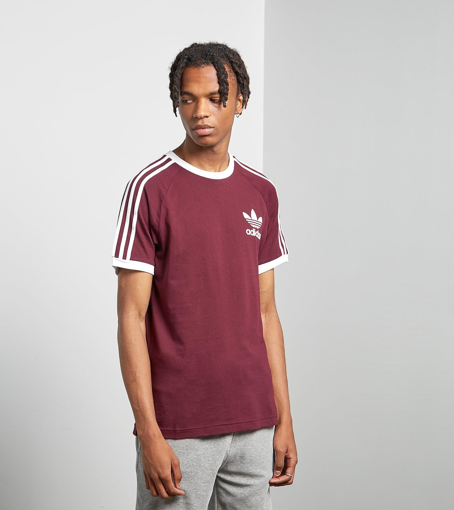 adidas Originals California-T-Shirt, Maroon