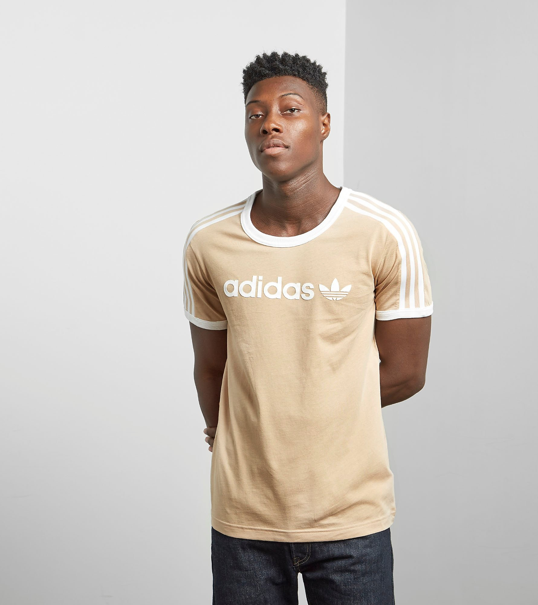 adidas Originals Camiseta Linear en exclusiva para size?