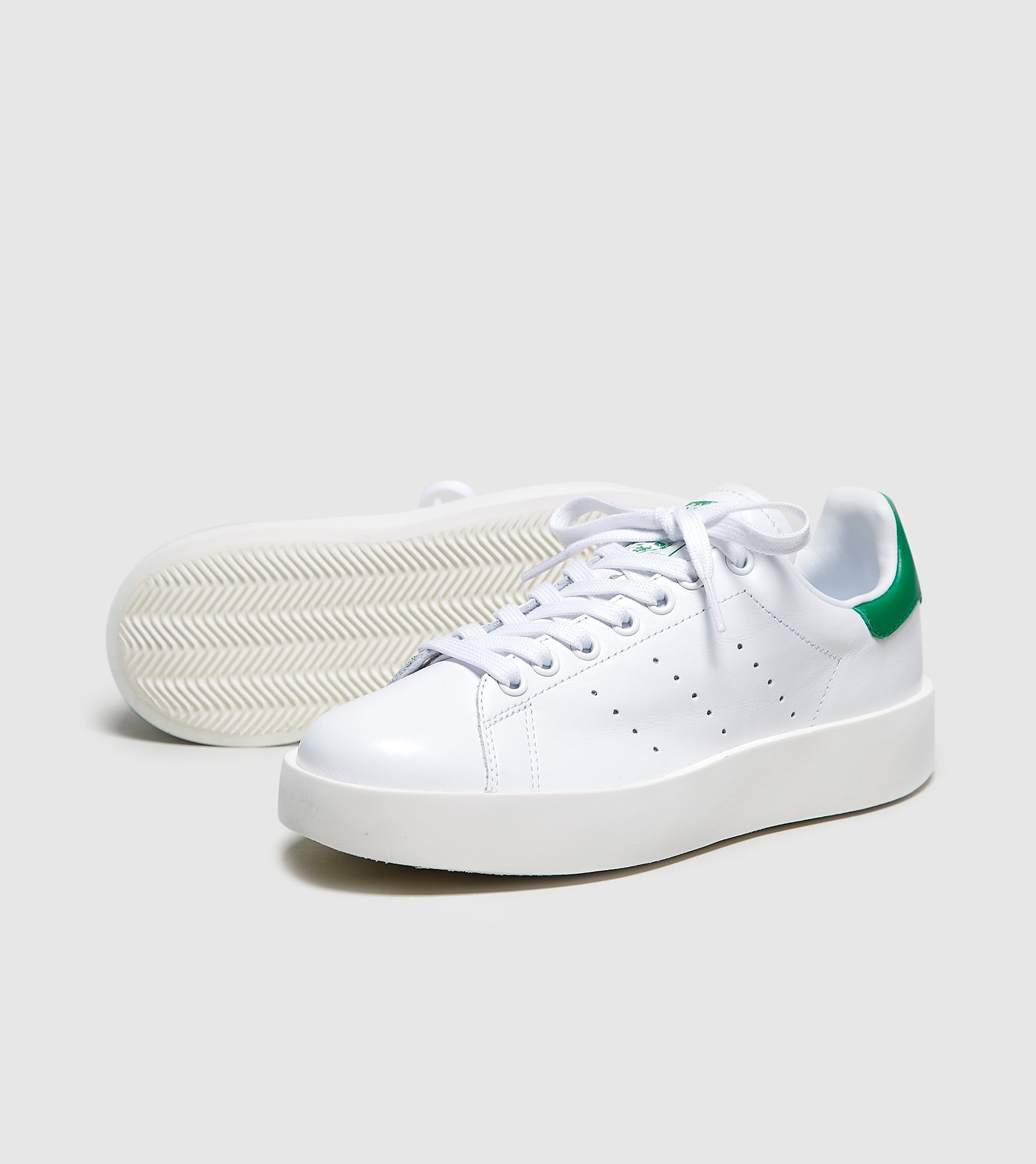 adidas Originals Stan Smith Bold Dames, White/Green