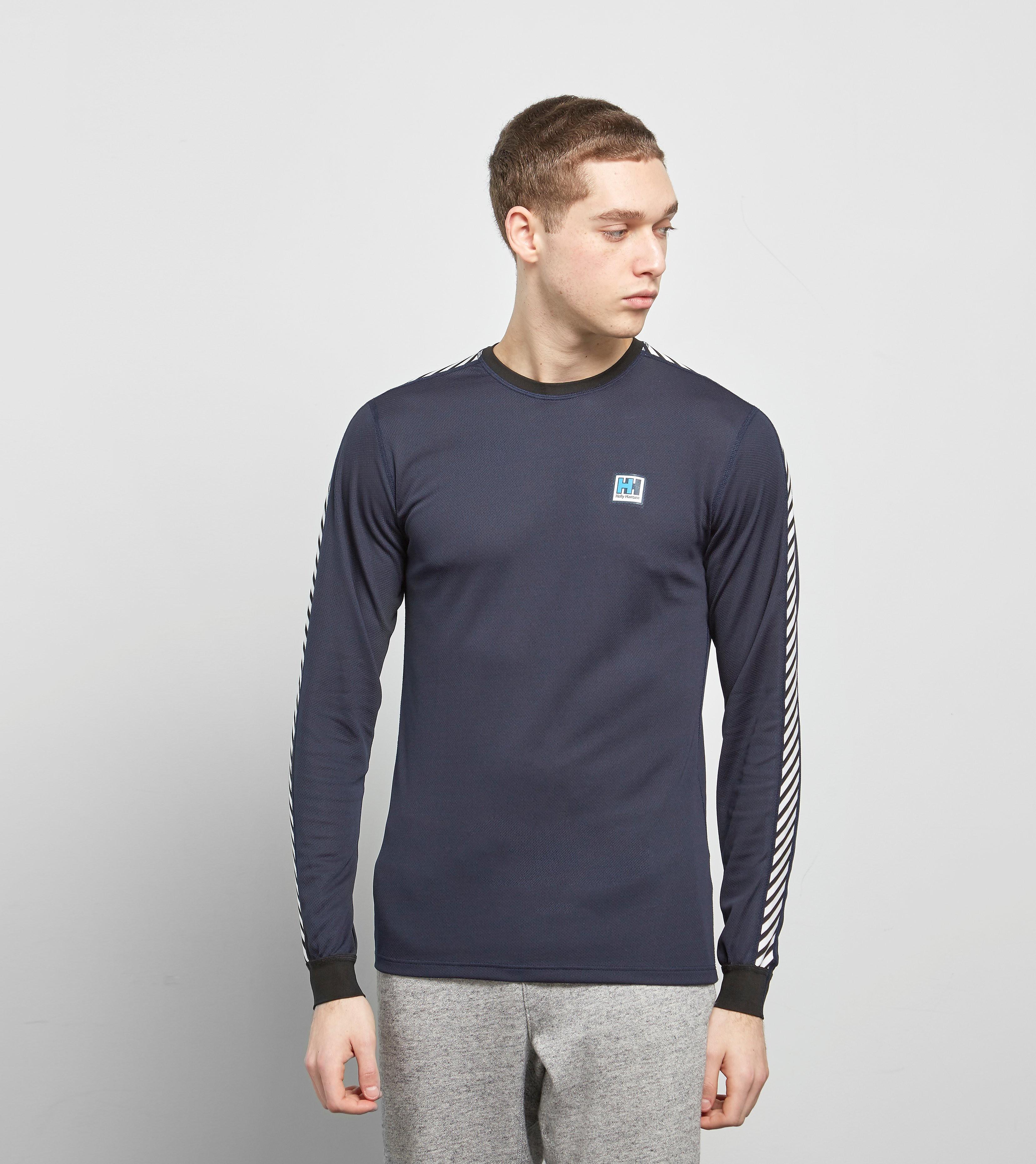 Helly Hansen Lifa Stripe Crew Long Sleeved T-Shirt