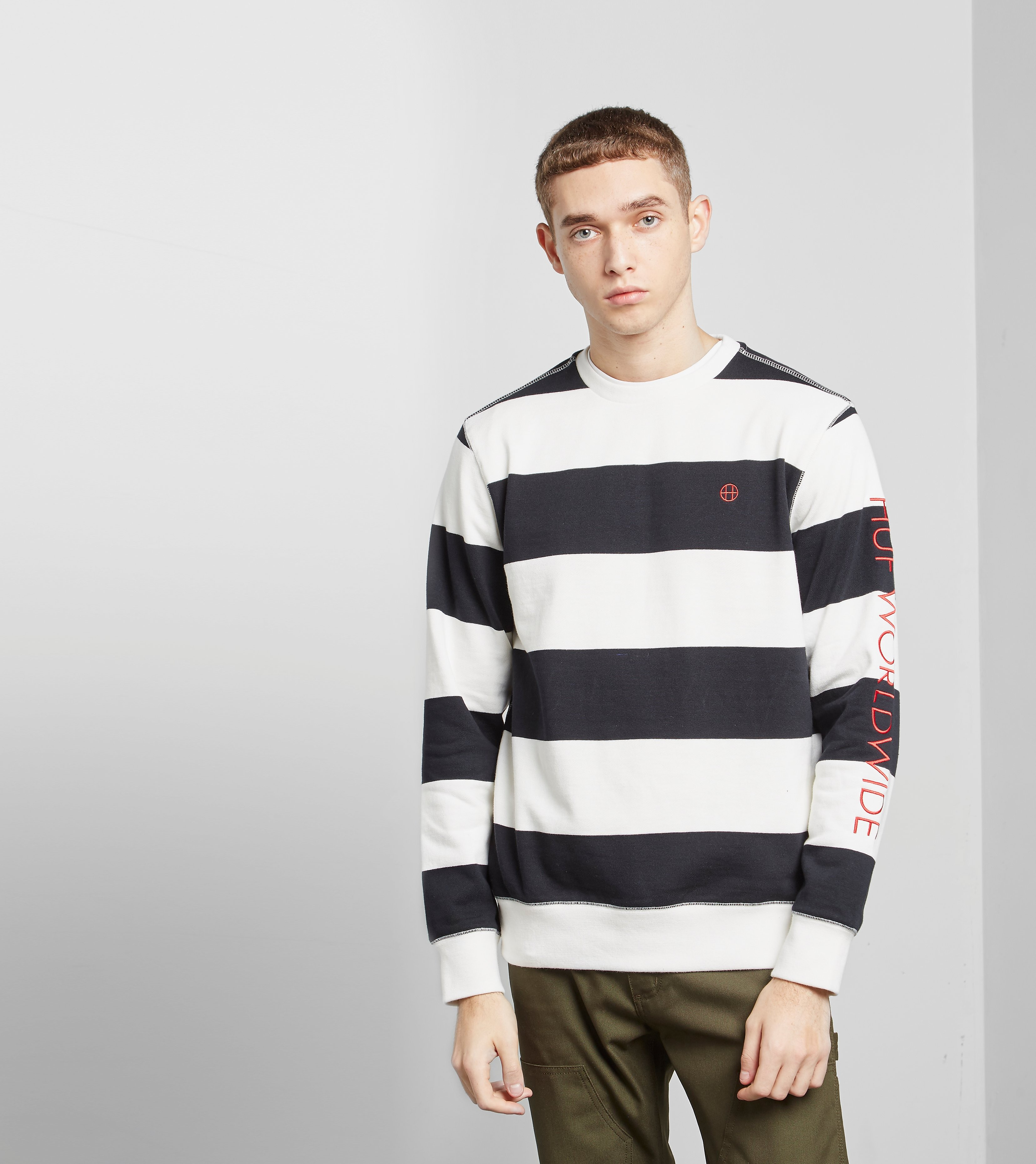HUF Catalina Strip Sweatshirt