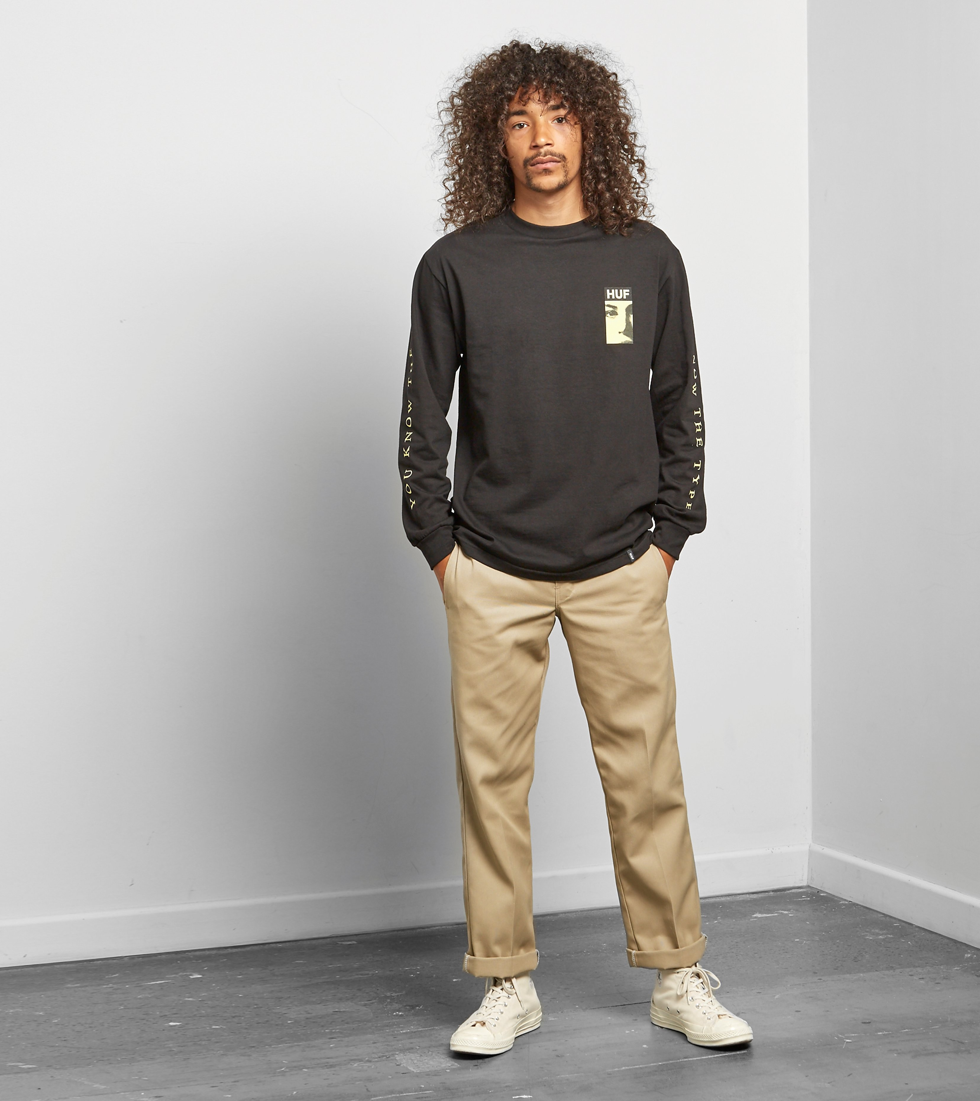 HUF The Type Long Sleeve
