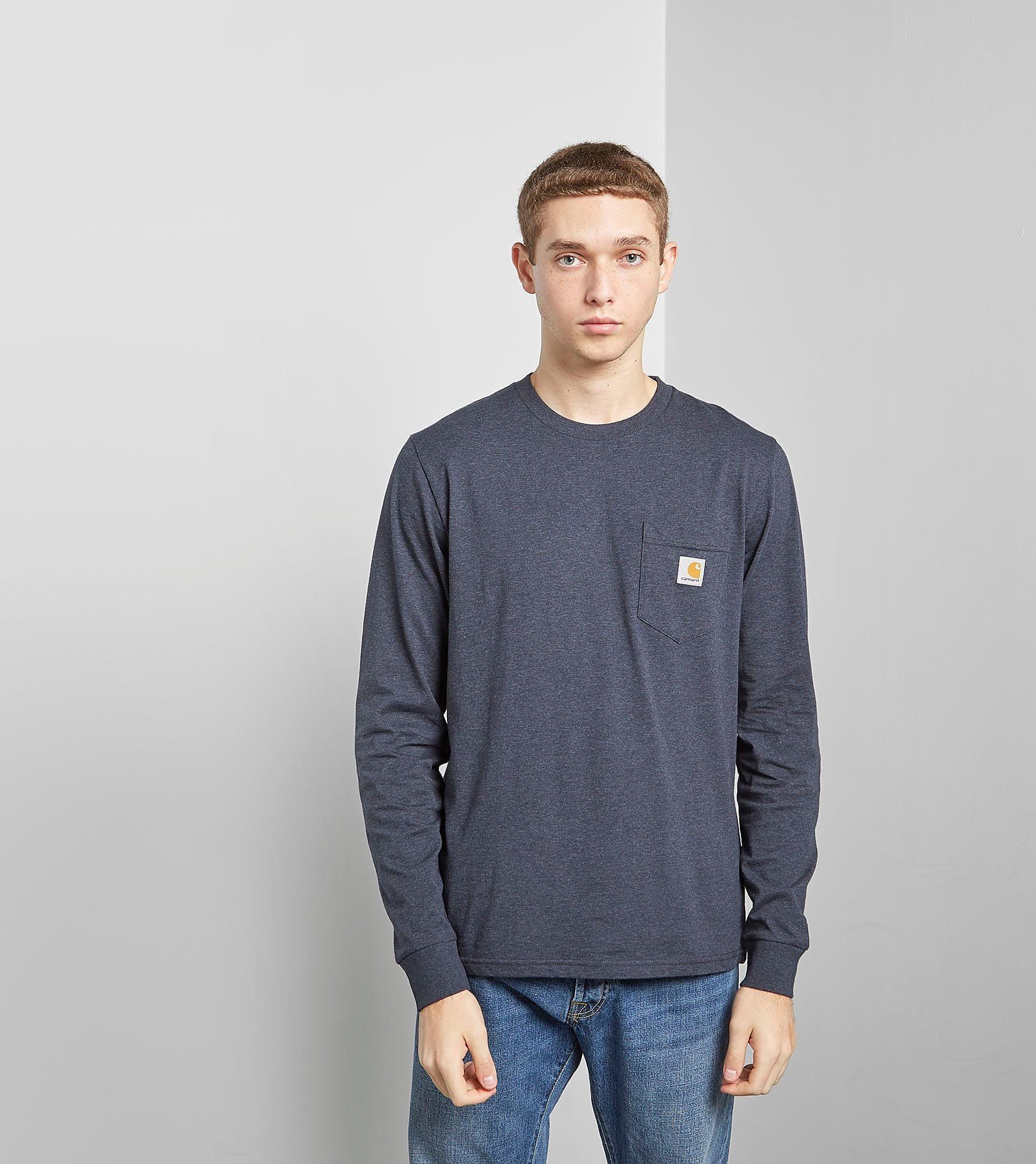 Carhartt WIP Långärmad Pocket T-skjorta
