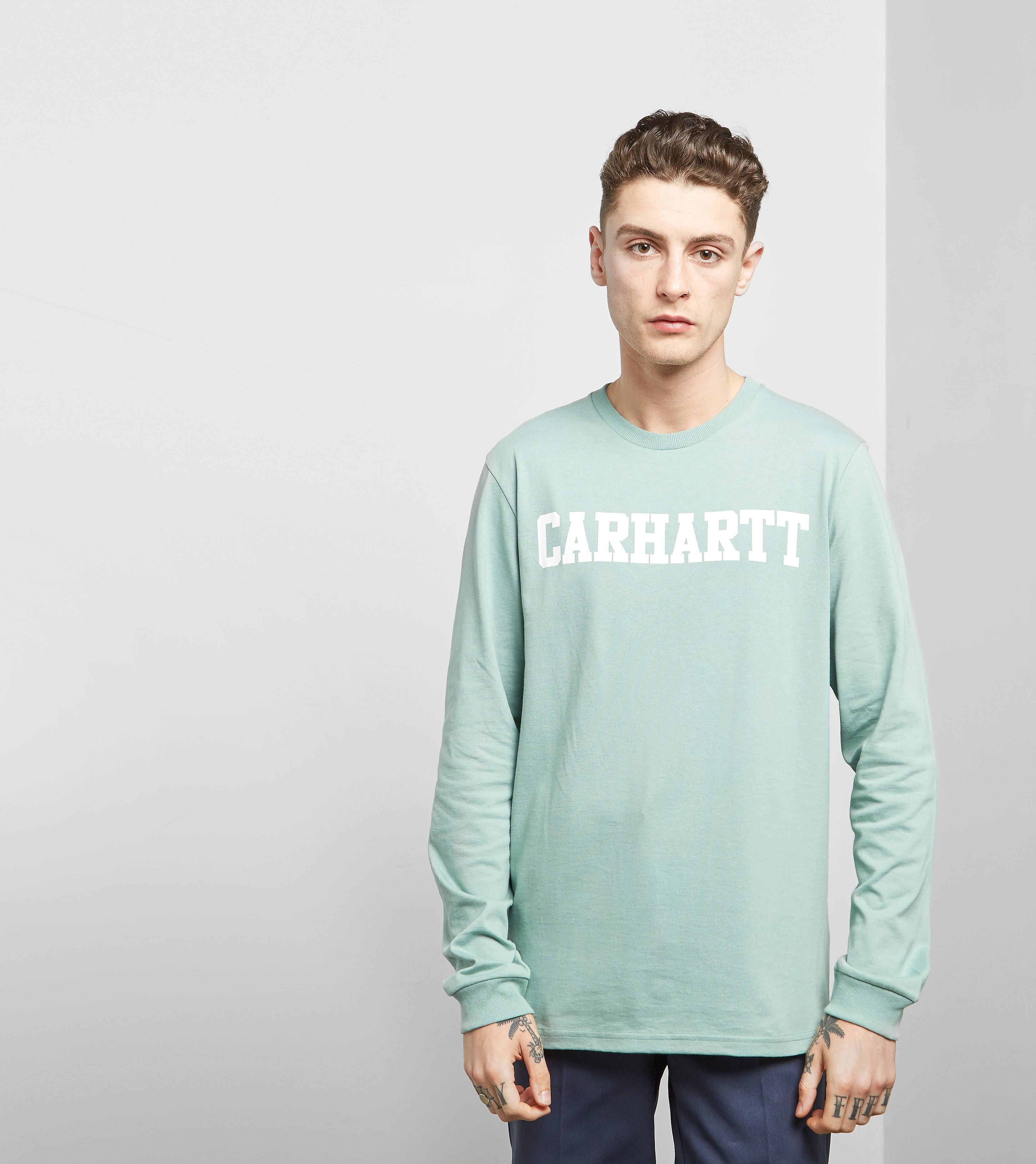 Carhartt WIP Long Sleeved College T-Shirt