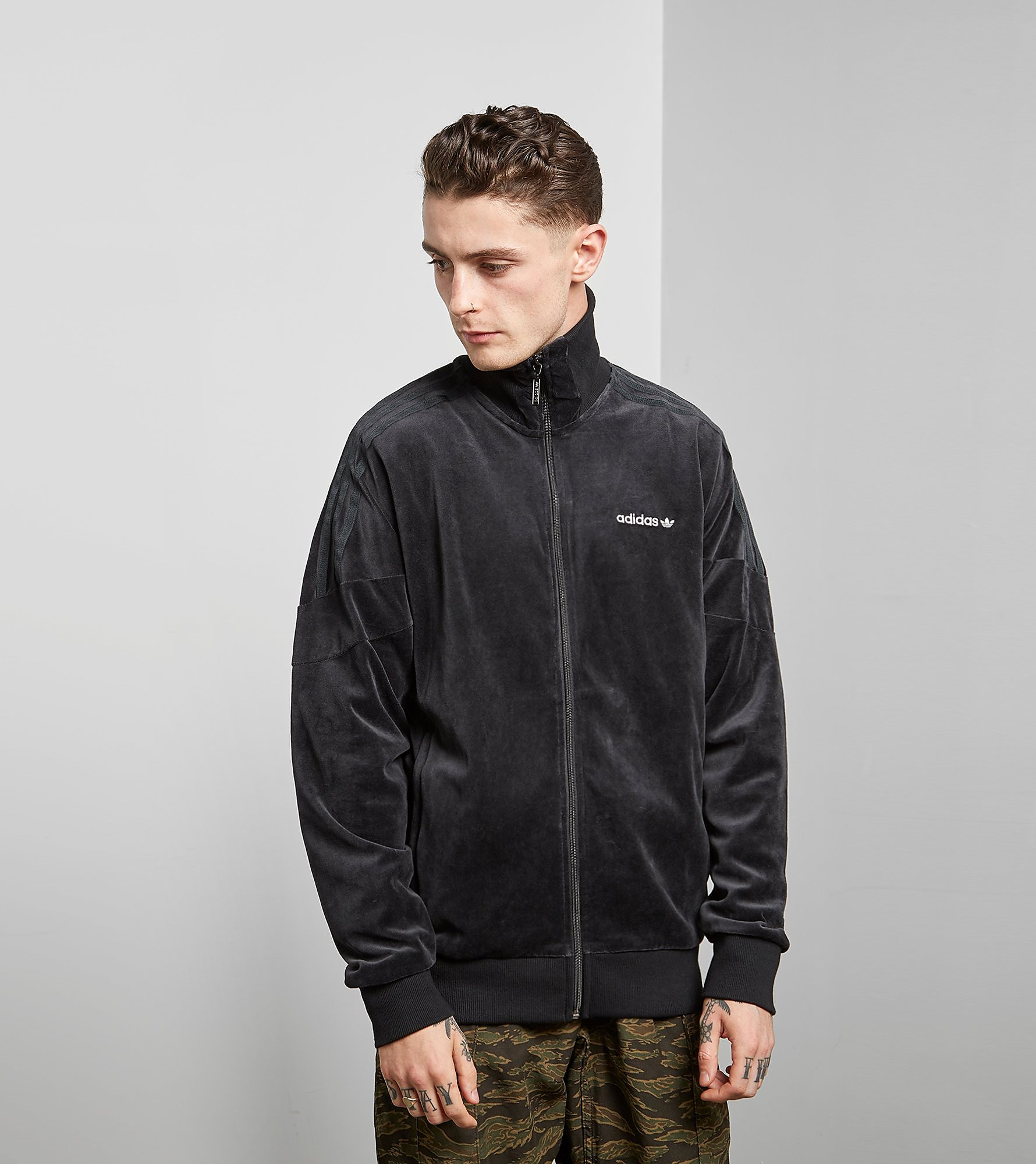 adidas Originals Velour Track Jacket