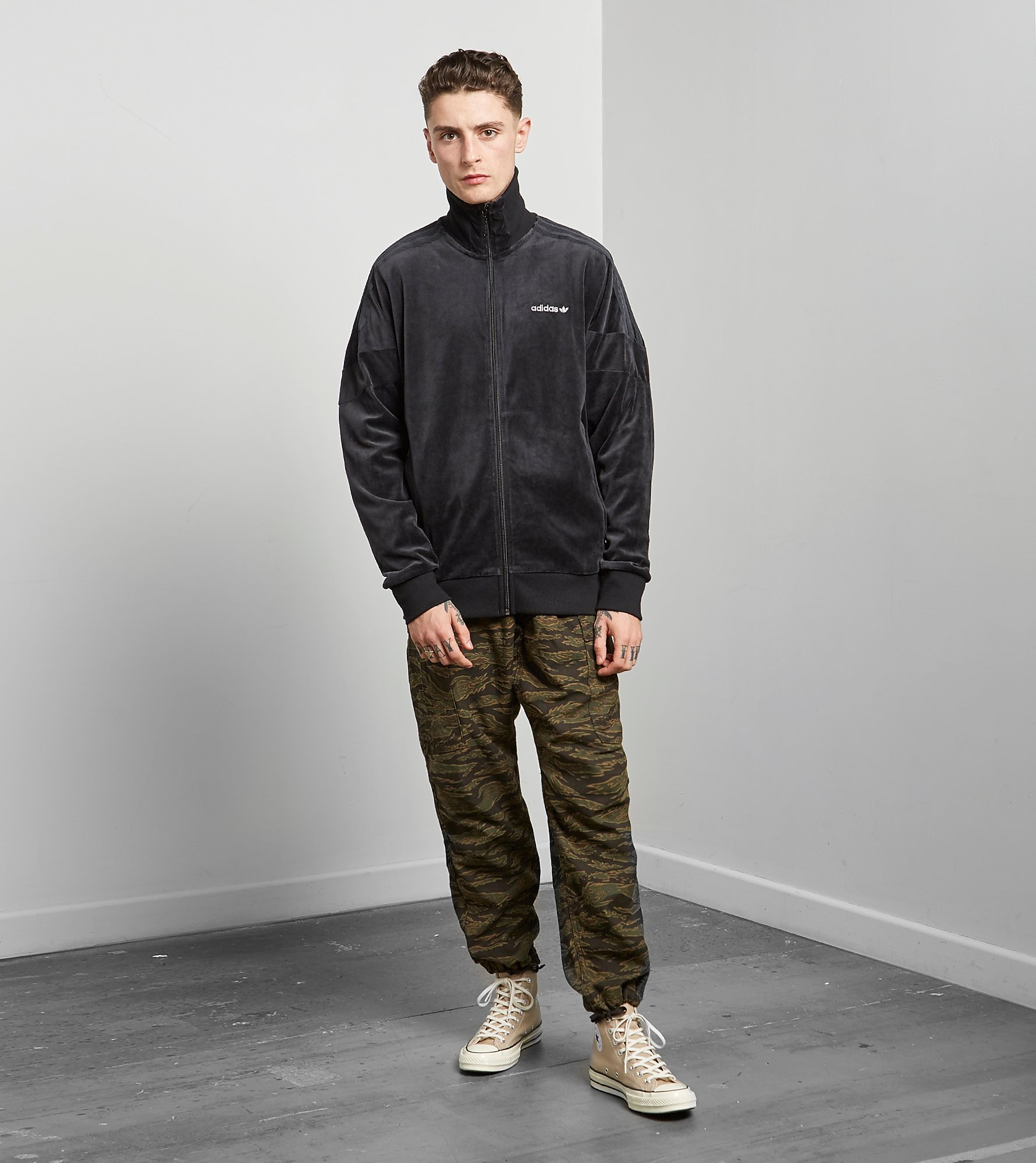 adidas Originals CLR84 Velour Track Top