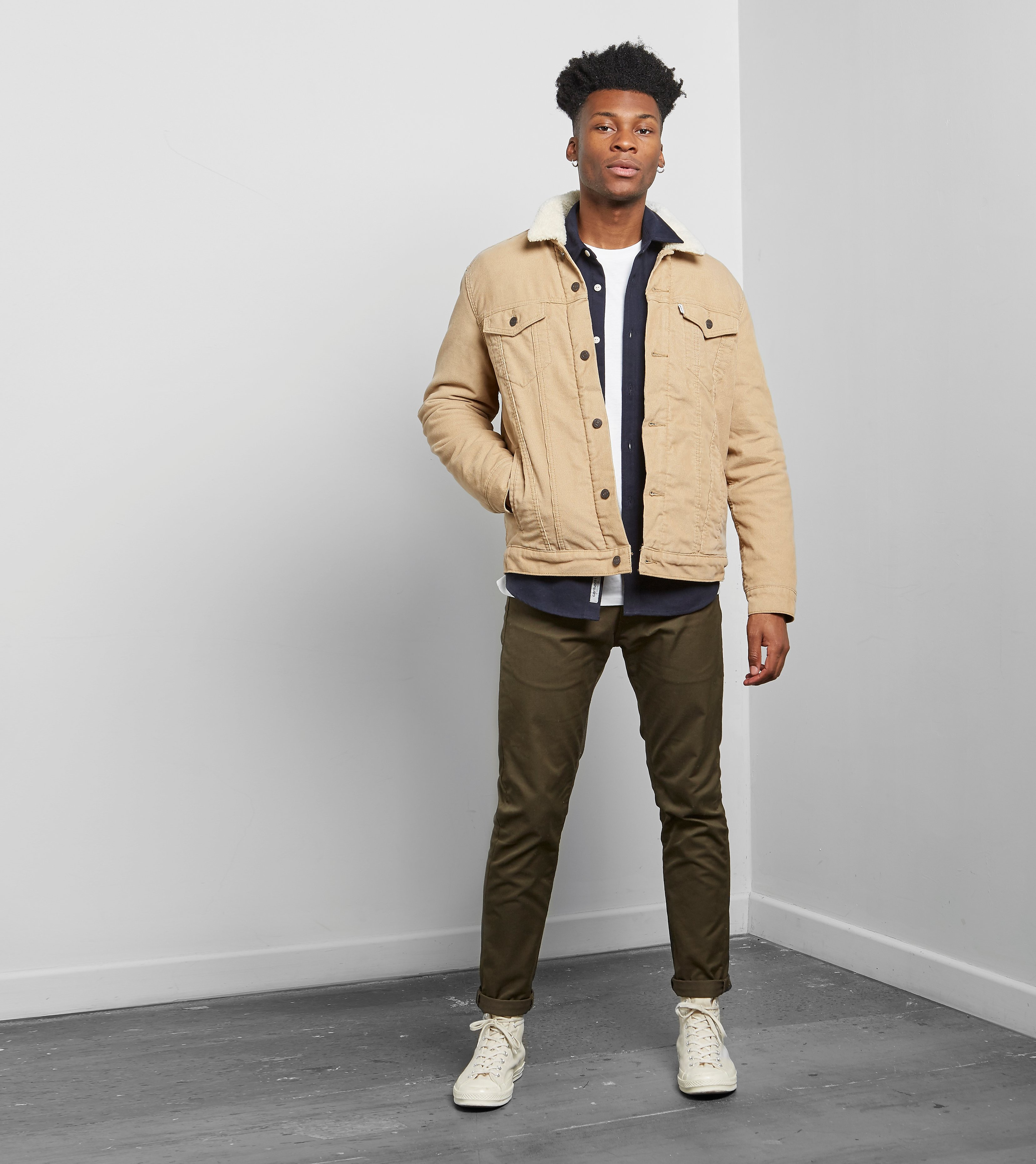 Levis Sherpa Lightweight Denim Jacket
