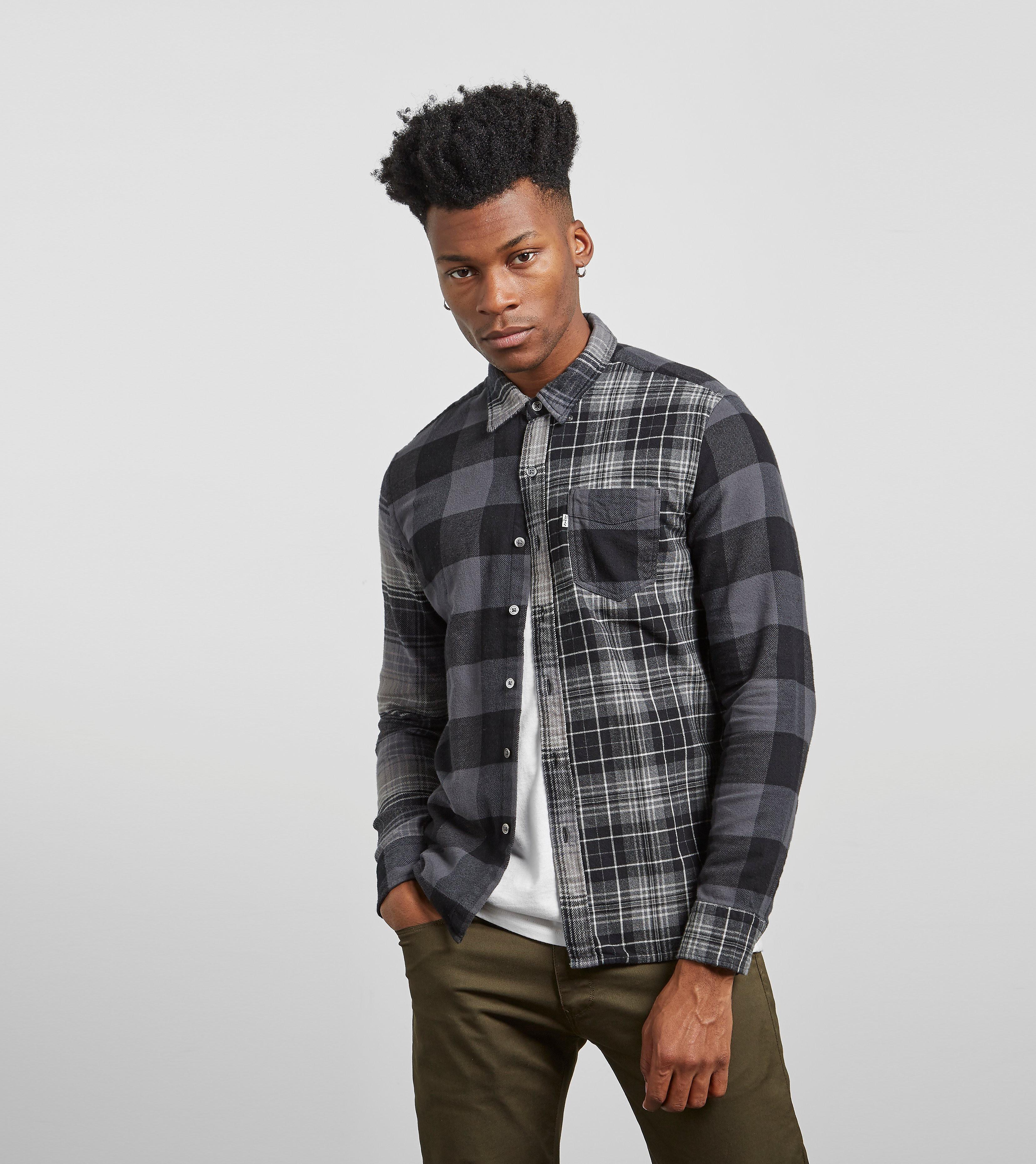 Levis Mixed Plaid Shirt